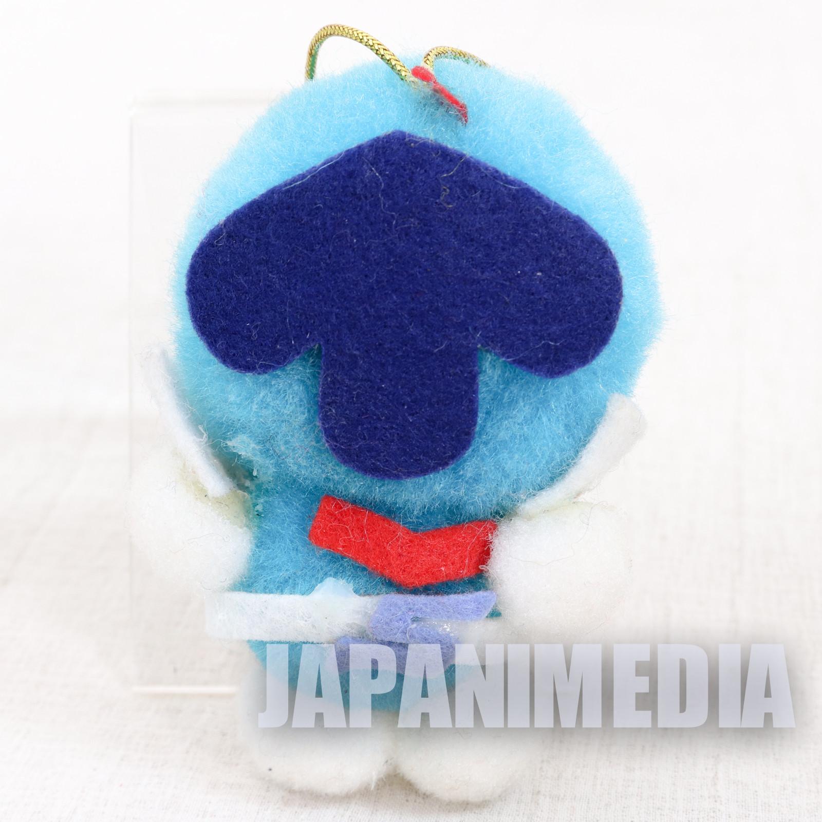 Retro RARE! Goranger Blue Aoranger Small Size Plush Doll JAPAN TOKUSATSU