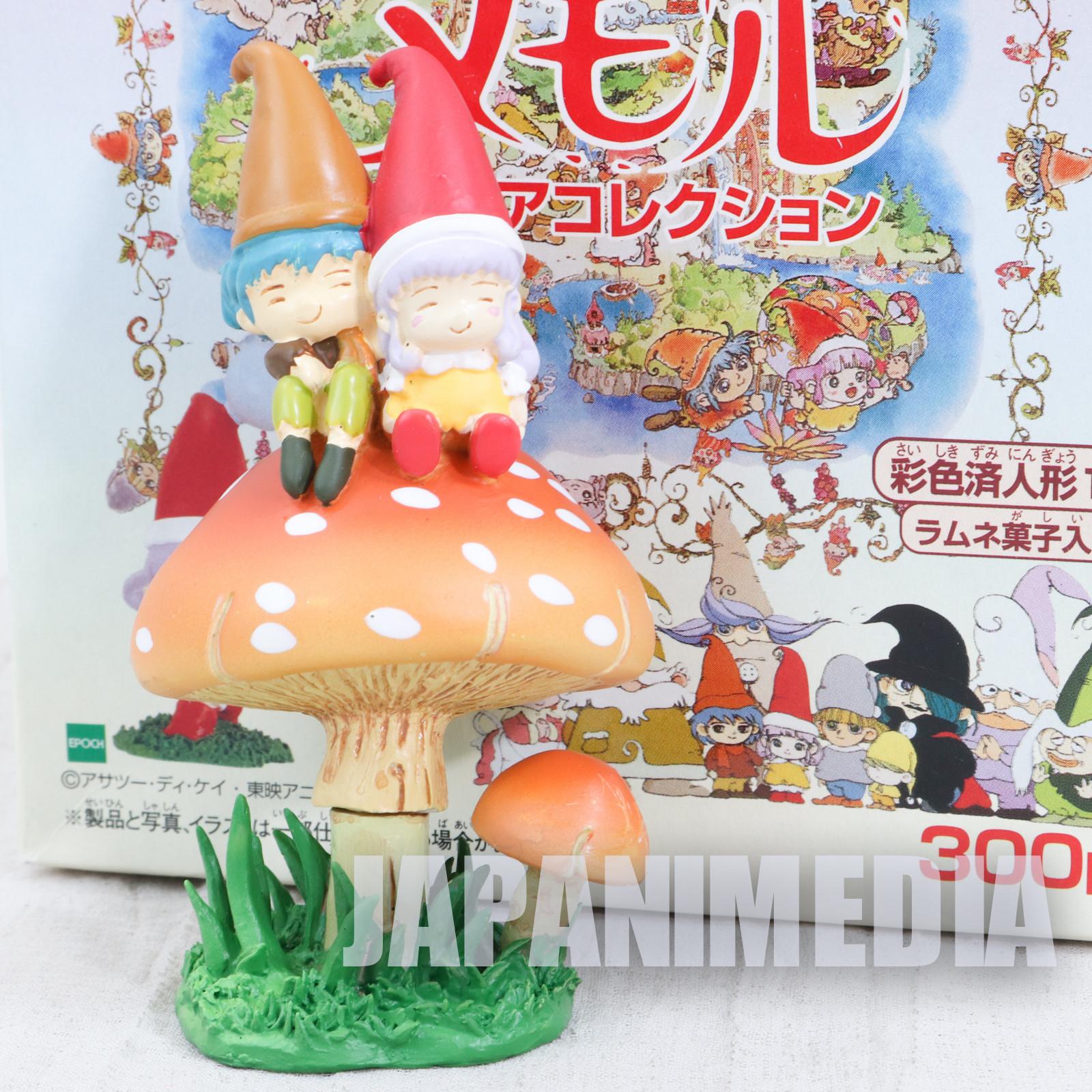 RARE! Memole Dolce Memole Mini Figure Memole with Popit ver. Epoch JAPAN