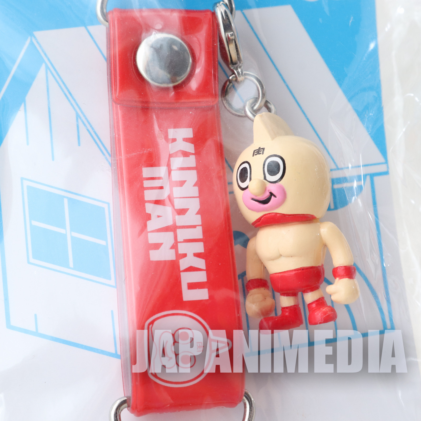 KINNIKUMAN Kinnikuman Panson Works Mini Figure Strap JAPAN ULTIMATE MUSCLE