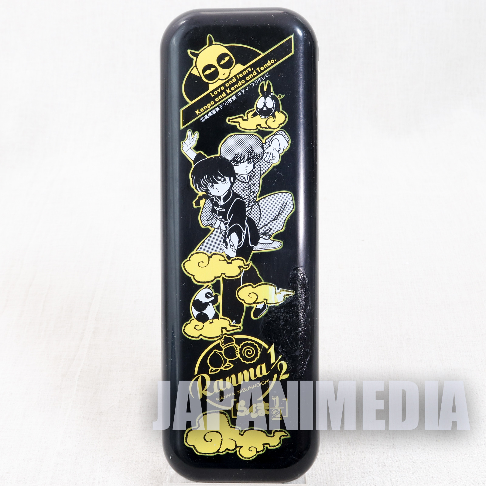 (DAMAGED) Ranma 1/2 Plastic Pen Case Seika Note JAPAN ANIME MANGA