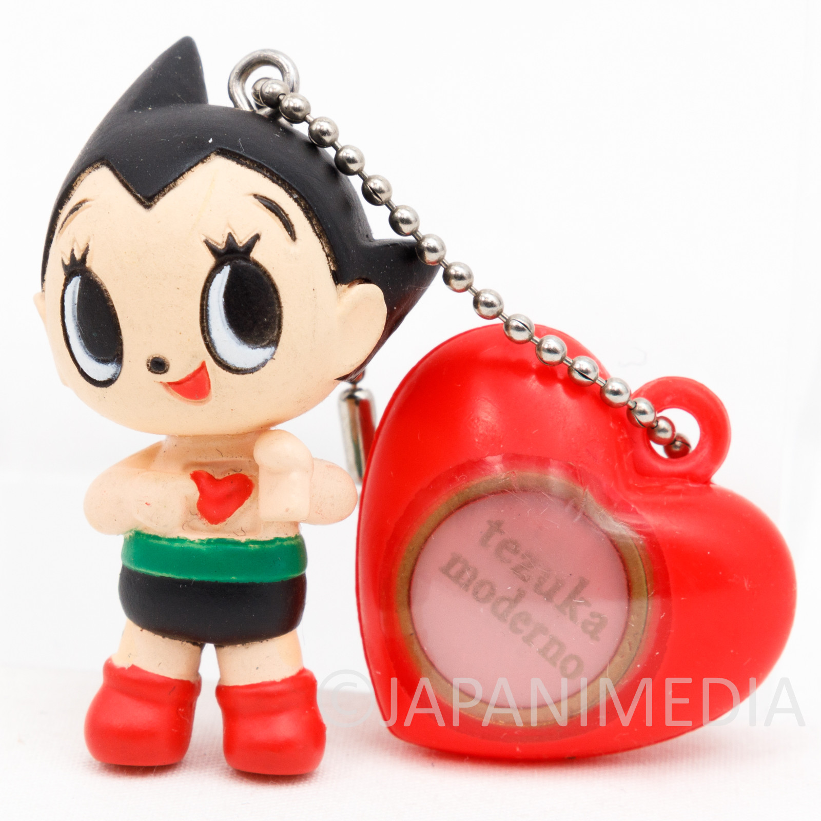 Astro Boy Atom Figure Ballchain Tezuka Osamu Moderno Yujin JAPAN