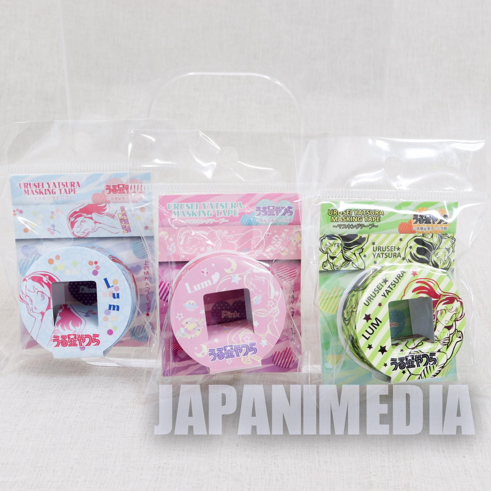 Urusei Yatsura Masking Tape 3ps Set JAPAN ANIME 2