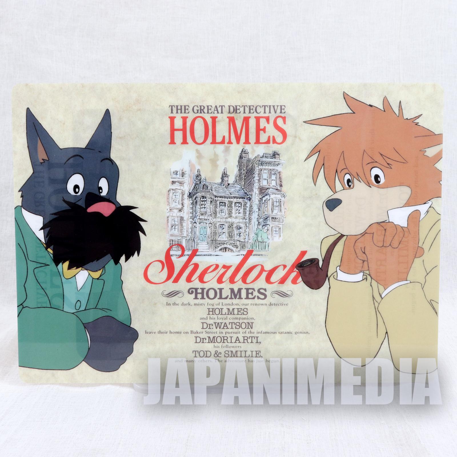 The Detective Holmes Sherlock Plastic Pencil Board Pad Shitajiki JAPAN ANIME