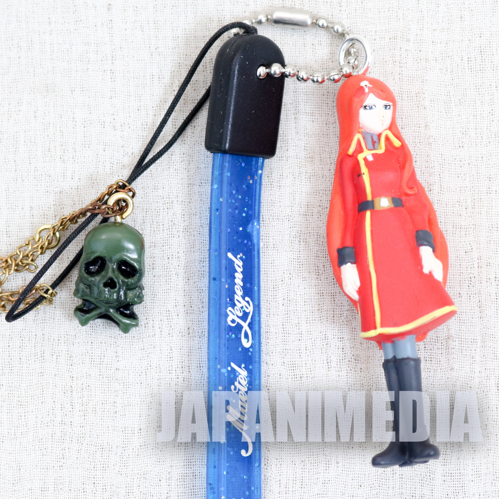 Galaxy Express 999 Queen Emeraldas Maetel Legend Figure Strap JAPAN ANIME 2