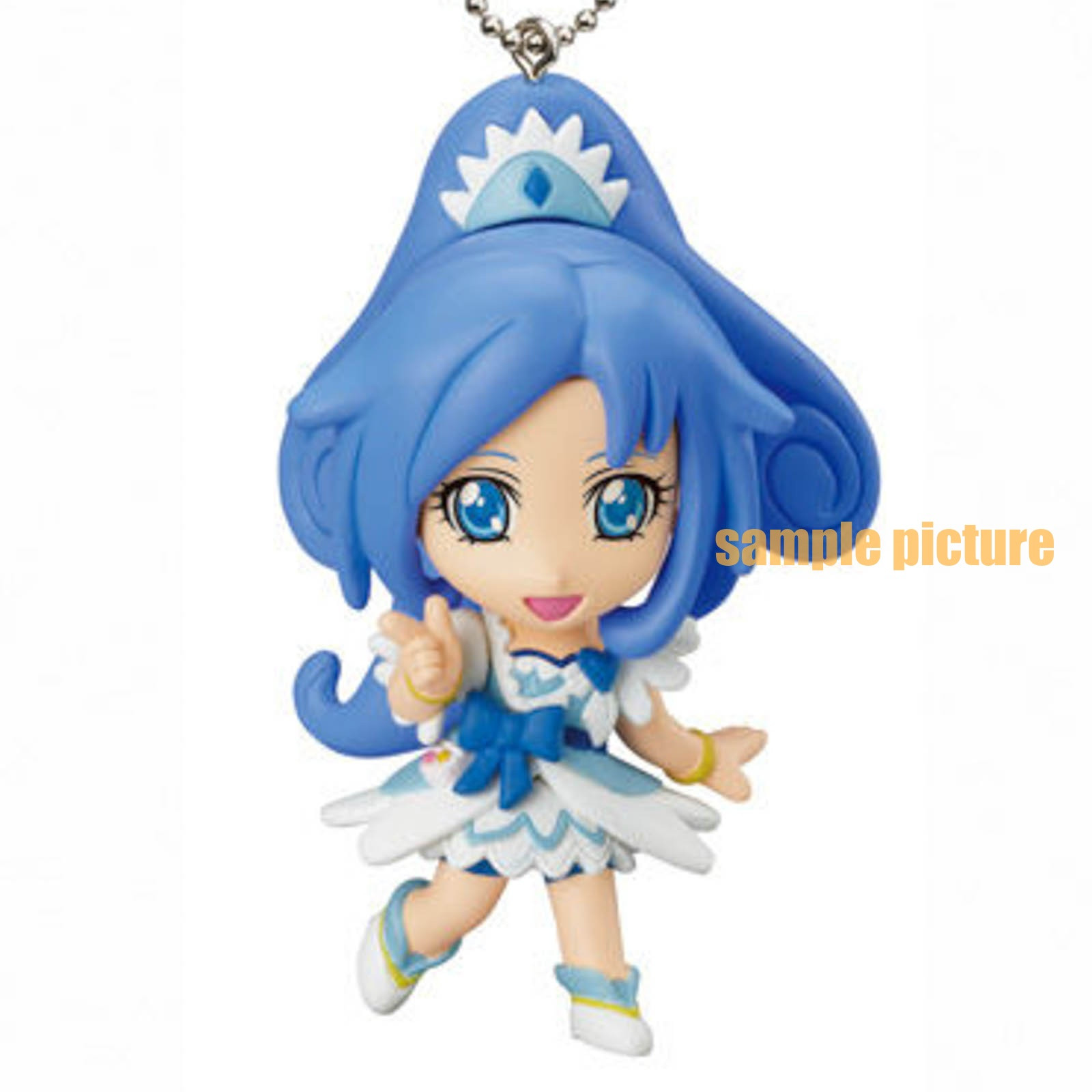 Doki Doki! PreCure Cure Diamond Mascot Figure Ball Keychain JAPAN ANIME