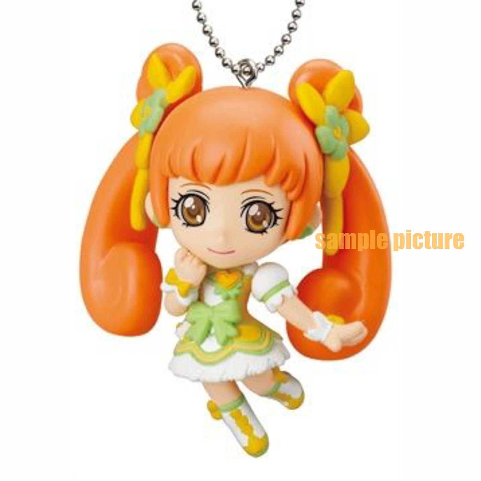 Doki Doki! PreCure Cure Rosetta Mascot Figure Ball Keychain JAPAN ANIME