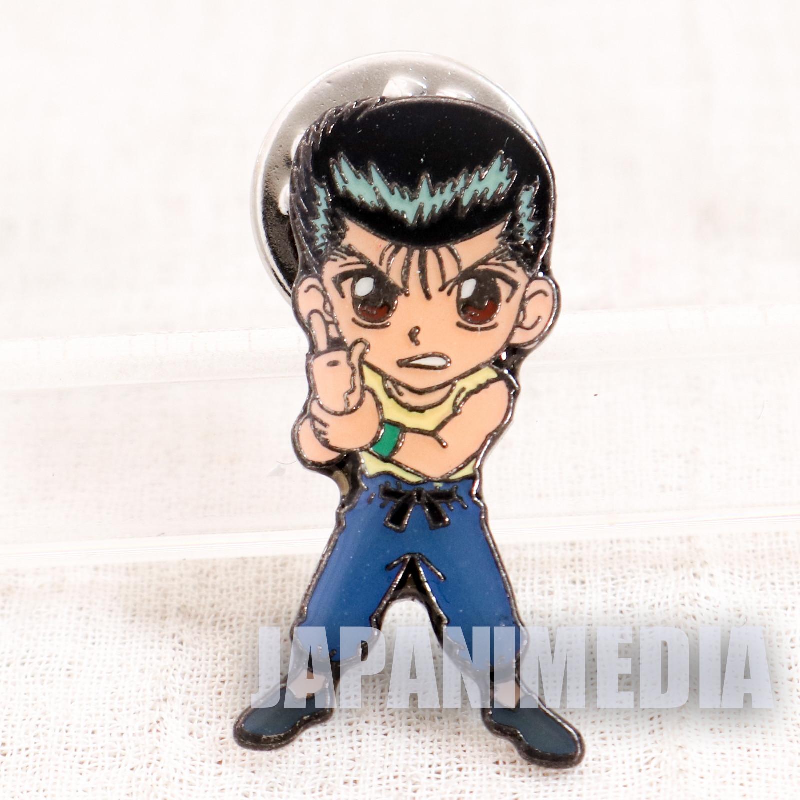 Yu Yu Hakusho Yusuke Urameshi Pins JAPAN ANIME MANGA 3
