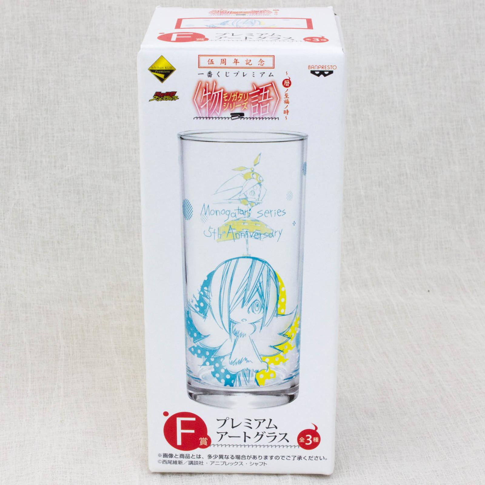Monogatari Series Premium Art Glass 5th Anniversary 3 [Shinobu Oshino]JAPAN ANIME