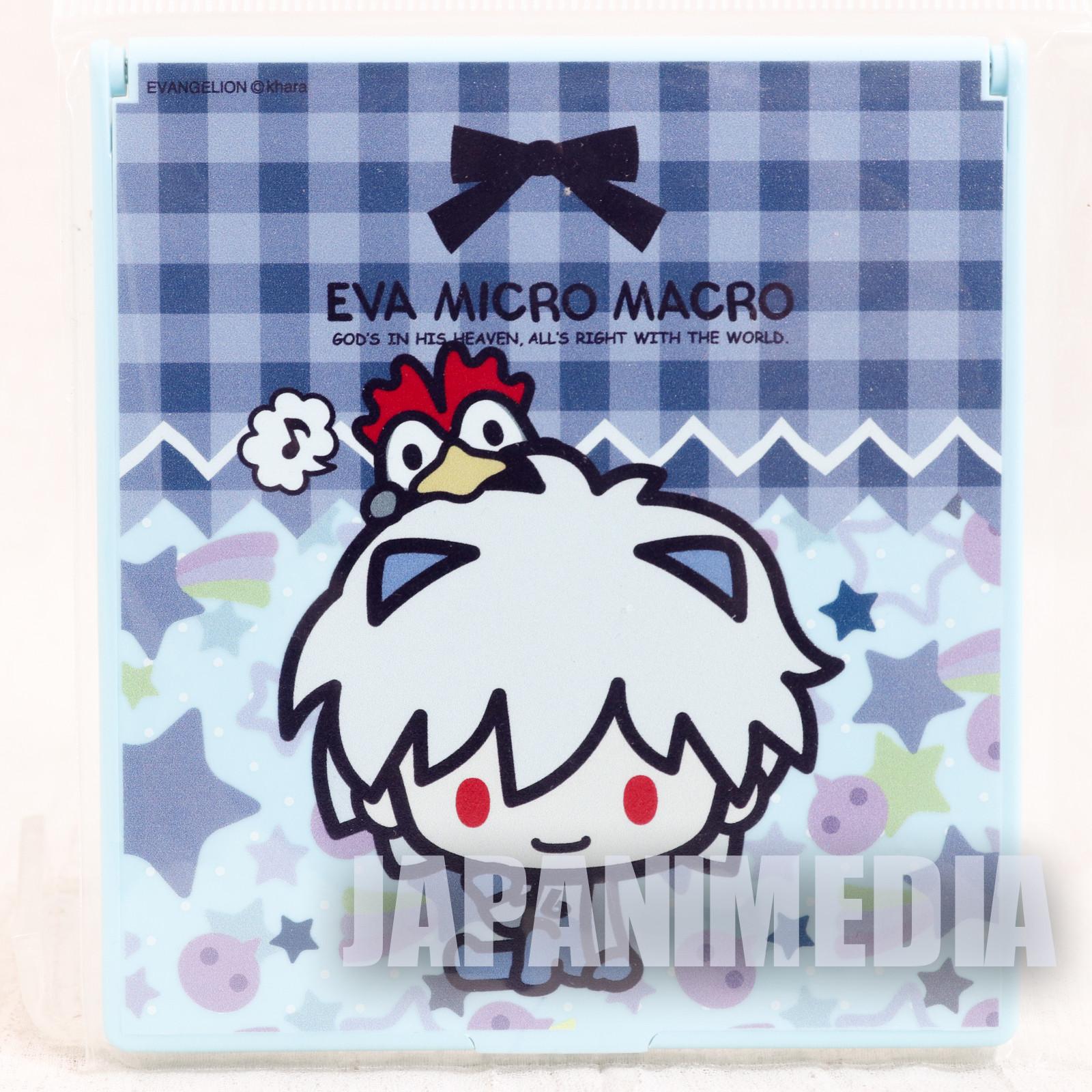 Evangelion EVA Micro Macro Kaworu Nagisa Compact Mirror Sanrio JAPAN