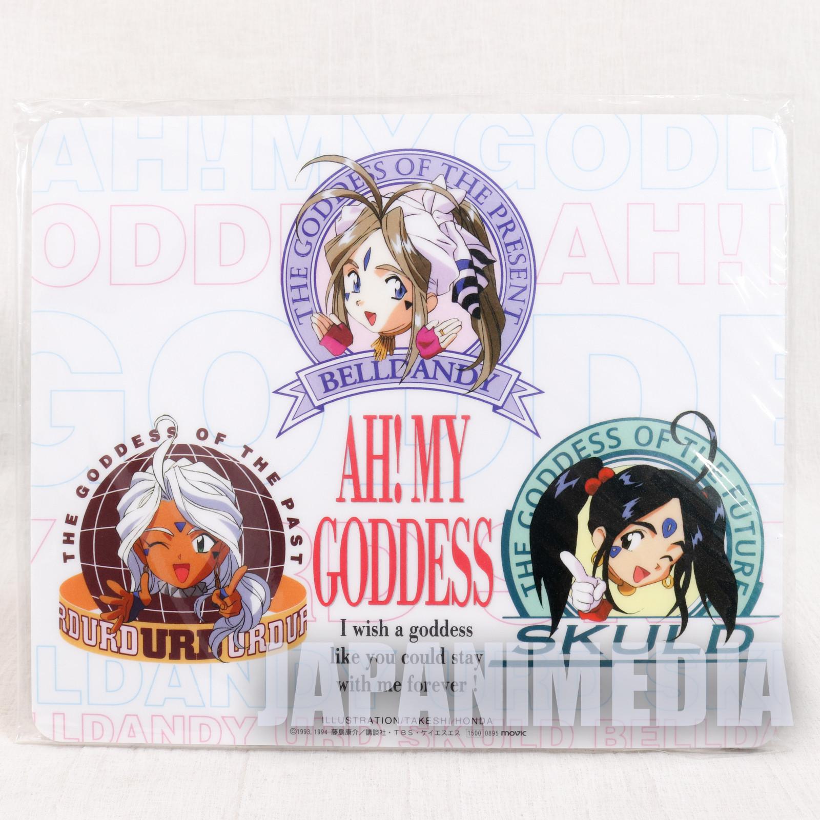 Ah! My Goddess Mouse Pad Belldandy Urd Skuld JAPAN ANIME MANGA