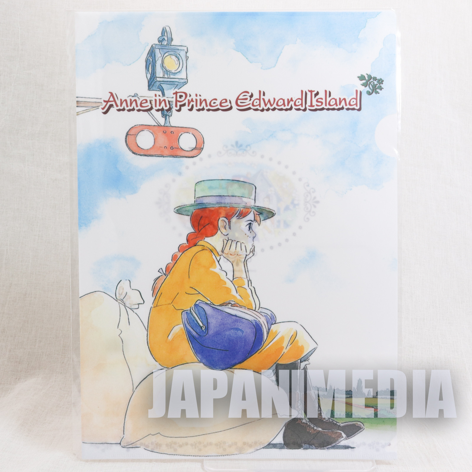 Anne of Green Gables A4 Size Clear File Holder World Masterpiece JAPAN ANIME