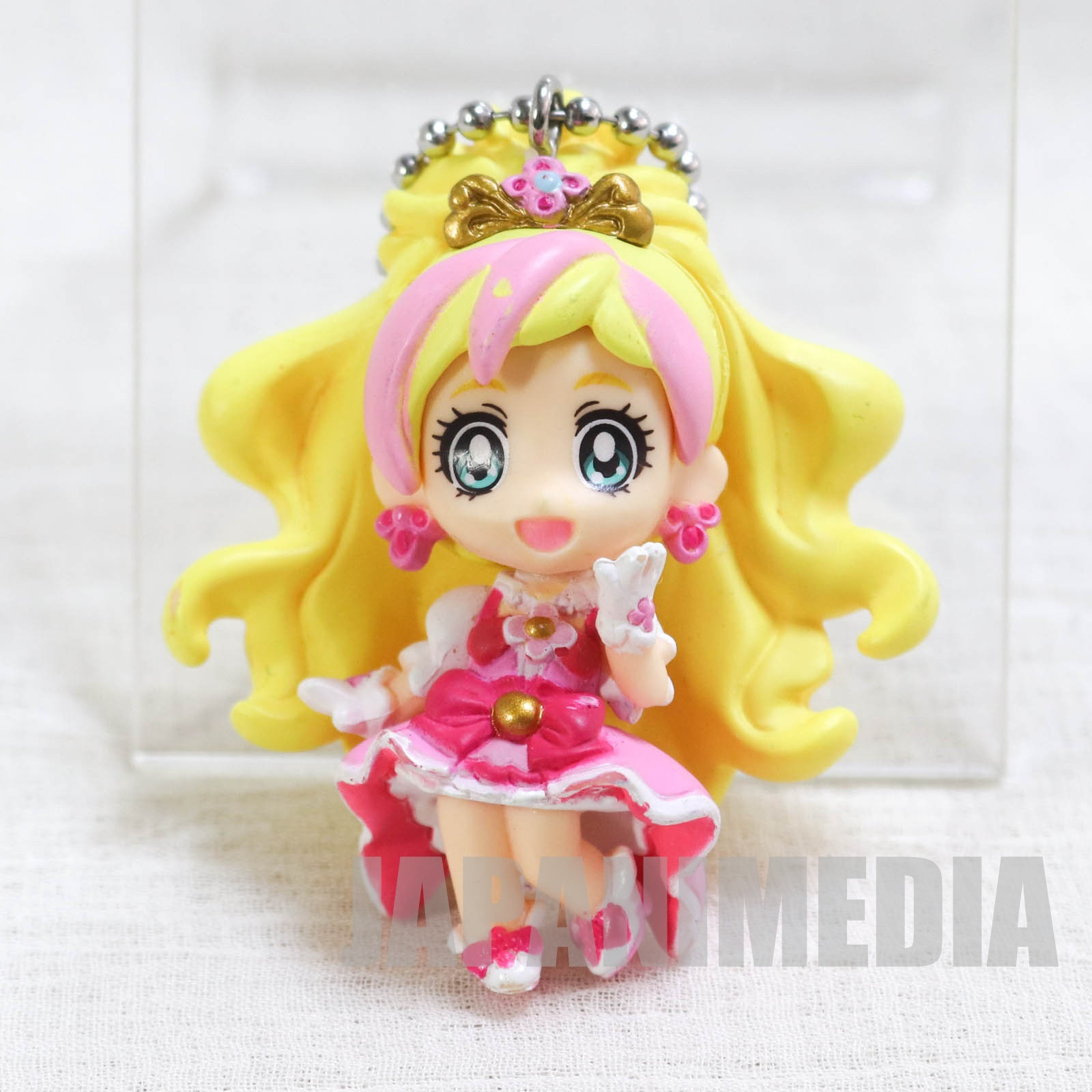 Go! Princess PreCure Cure Flora Mascot Figure Ball Keychain JAPAN ANIME