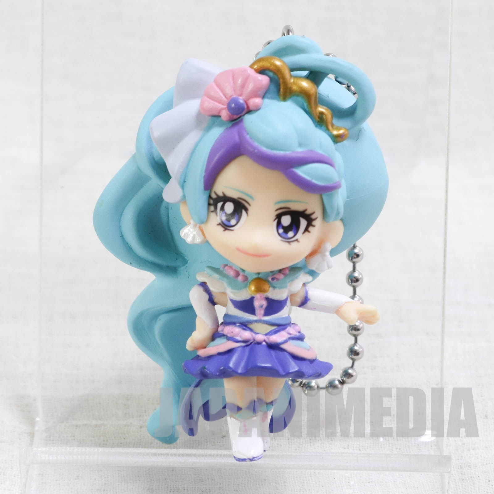 Go! Princess PreCure Cure Mermaid Mascot Figure Ball Keychain JAPAN ANIME