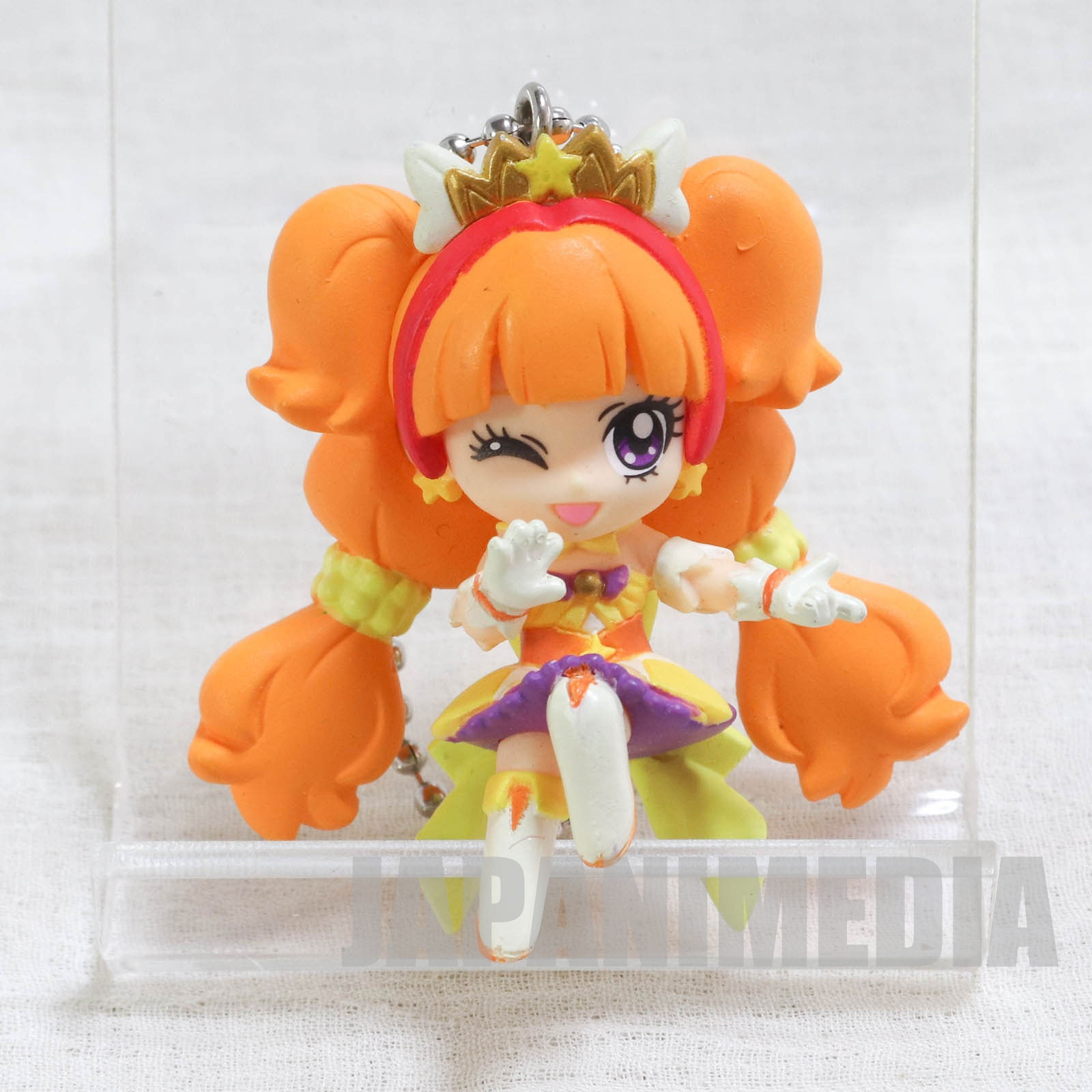 Go! Princess PreCure Cure Twinkle Mascot Figure Ball Keychain JAPAN ANIME