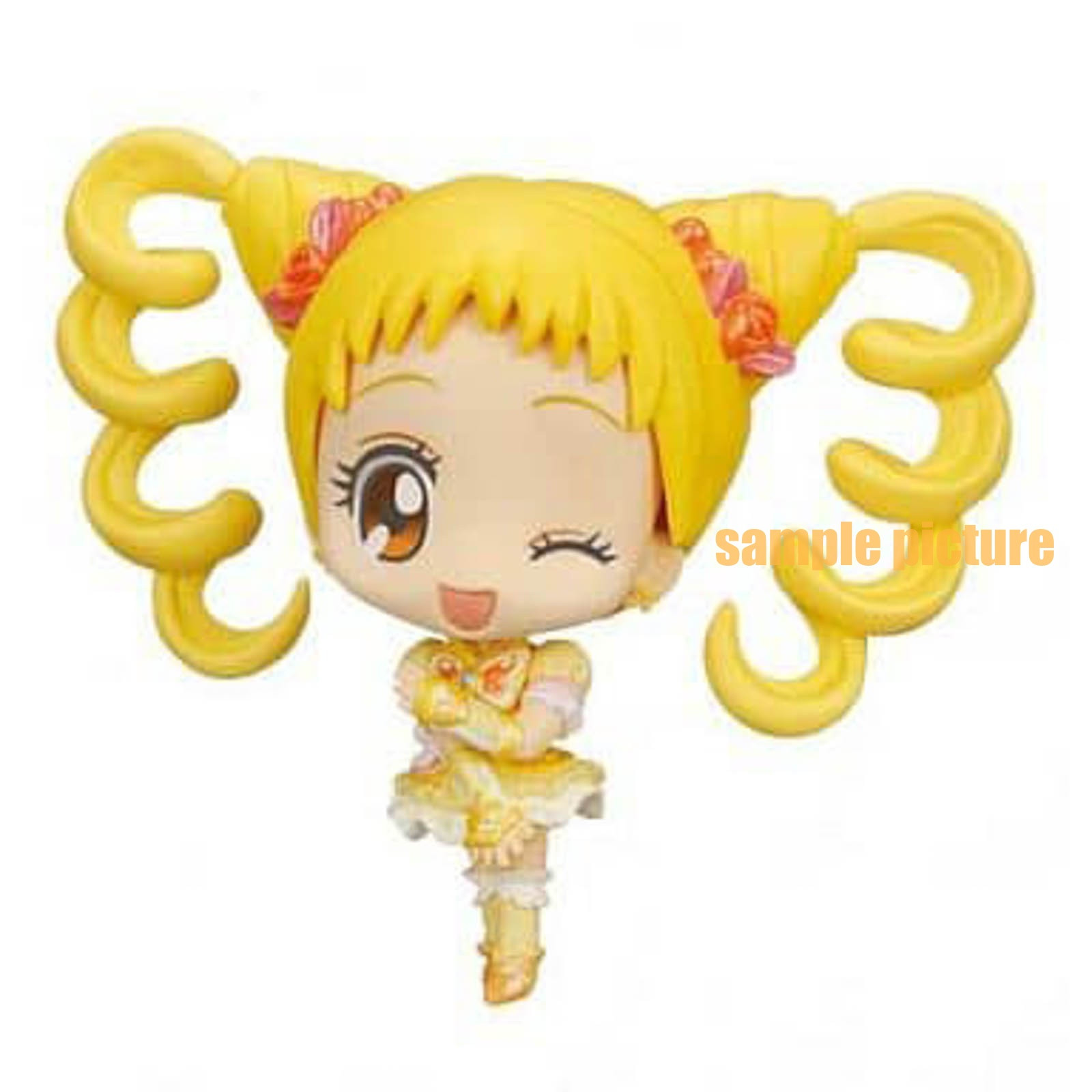 Yes! PreCure 5 Go Go! Cure Lemonade Precure All Stars Ver.cure Deforme My star Petit Figure JAPAN ANIME