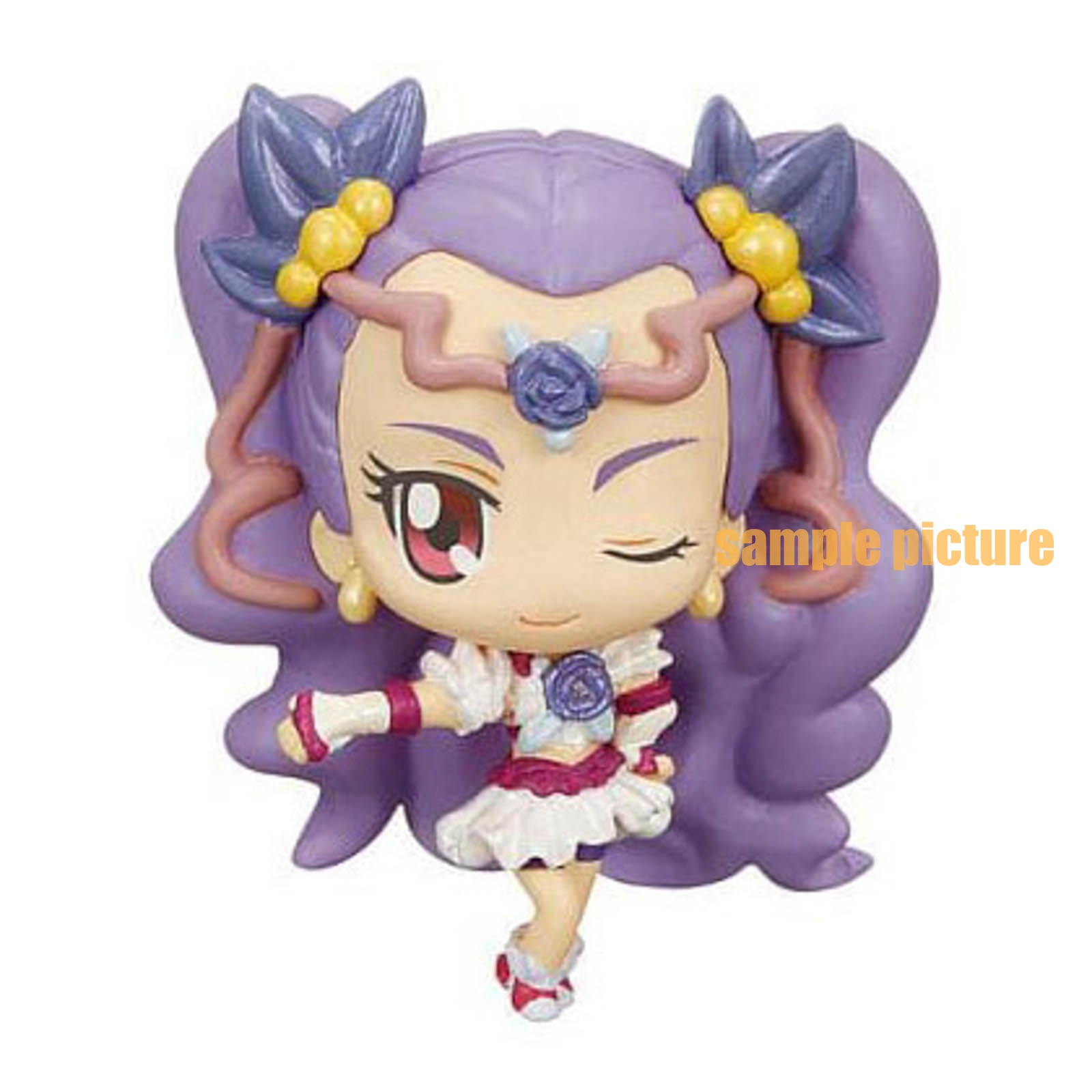 Yes! PreCure 5 Go Go! Milky Rose Precure All Stars Ver.cure Deforme My star Petit Figure JAPAN ANIME