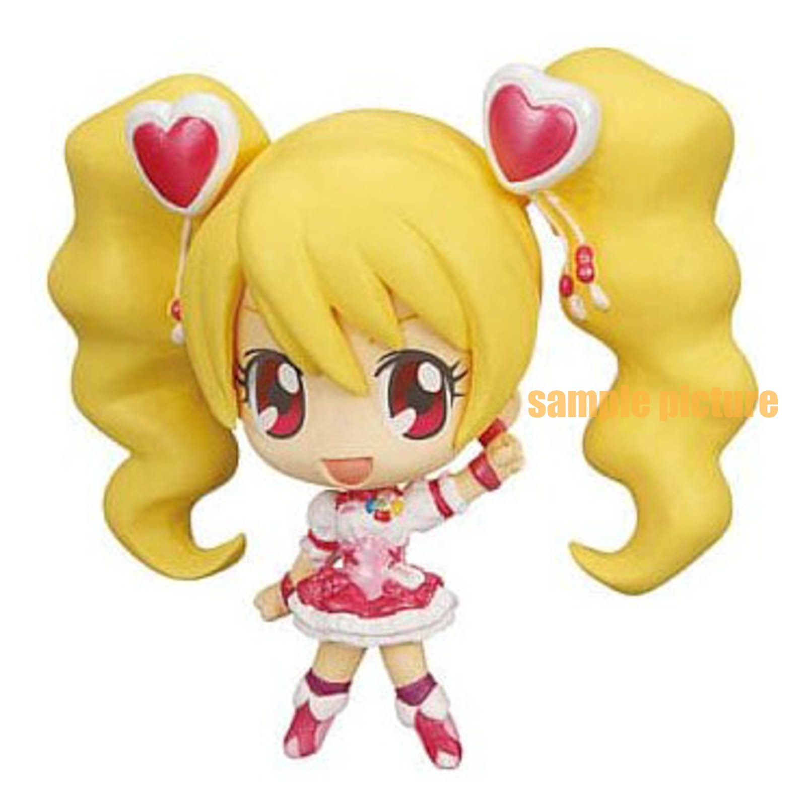 Fresh Pretty Cure! Cure Peach Precure All Stars Ver.cure Deforme My star Petit Figure JAPAN ANIME