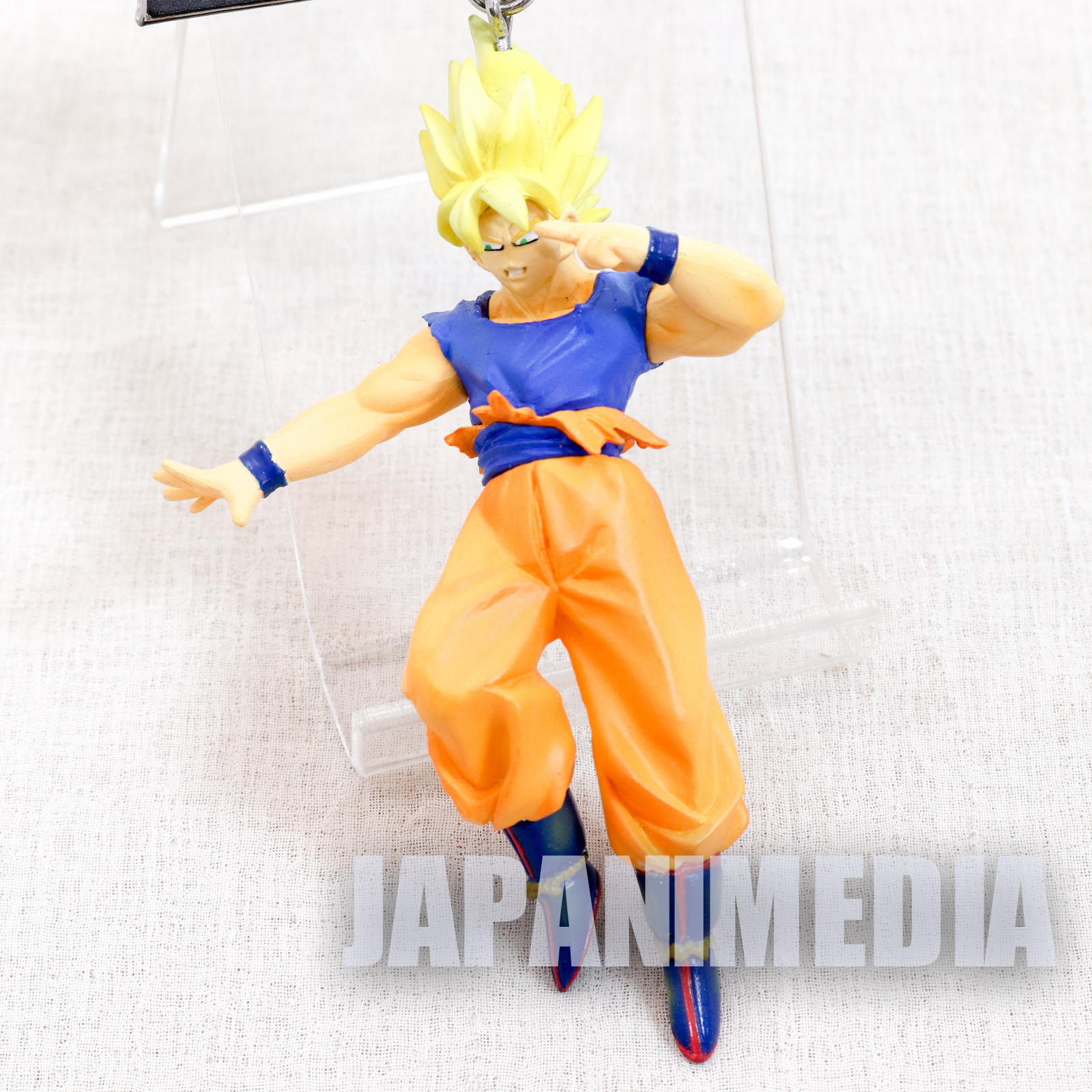 Dragon Ball Z Super Saiyan Son Gokou High Quality Figure Key Chain JAPAN 1