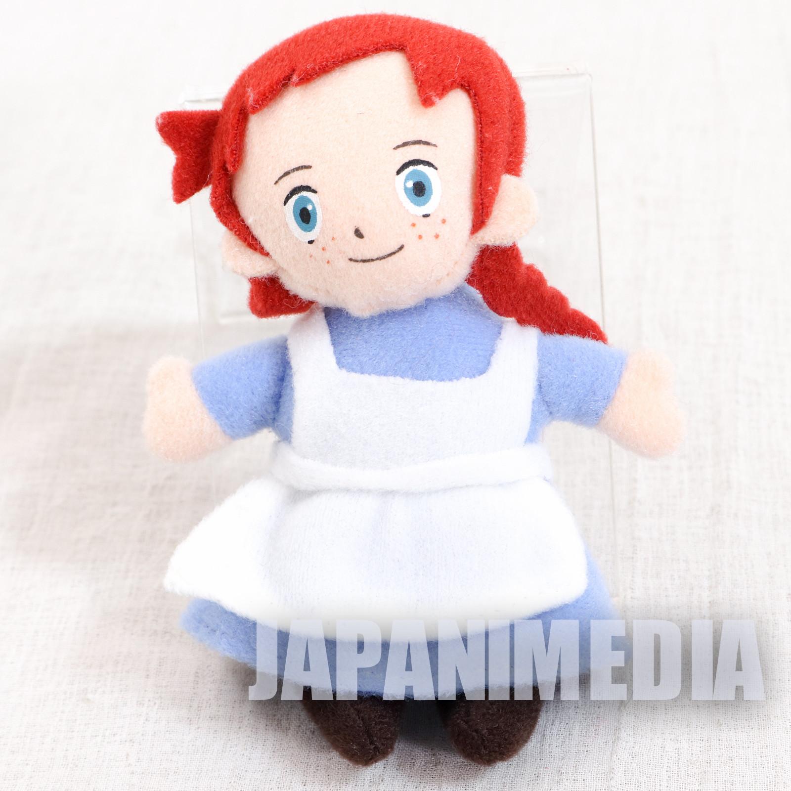 Anne of Green Gables Mini Plush Doll w/ Magnet JAPAN ANIME