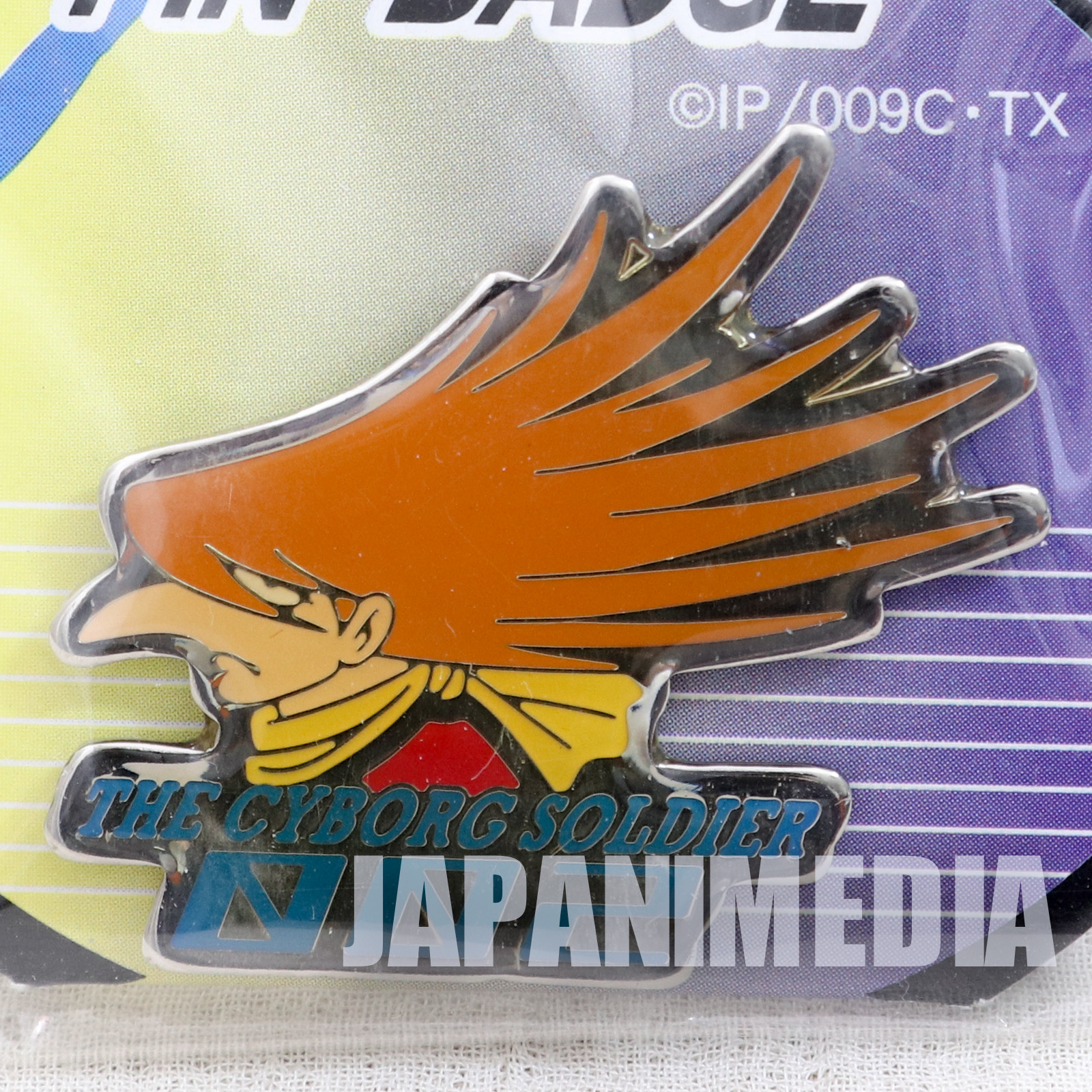 Cyborg 009 Jet Link 002  Metal Pins JAPAN ANIME