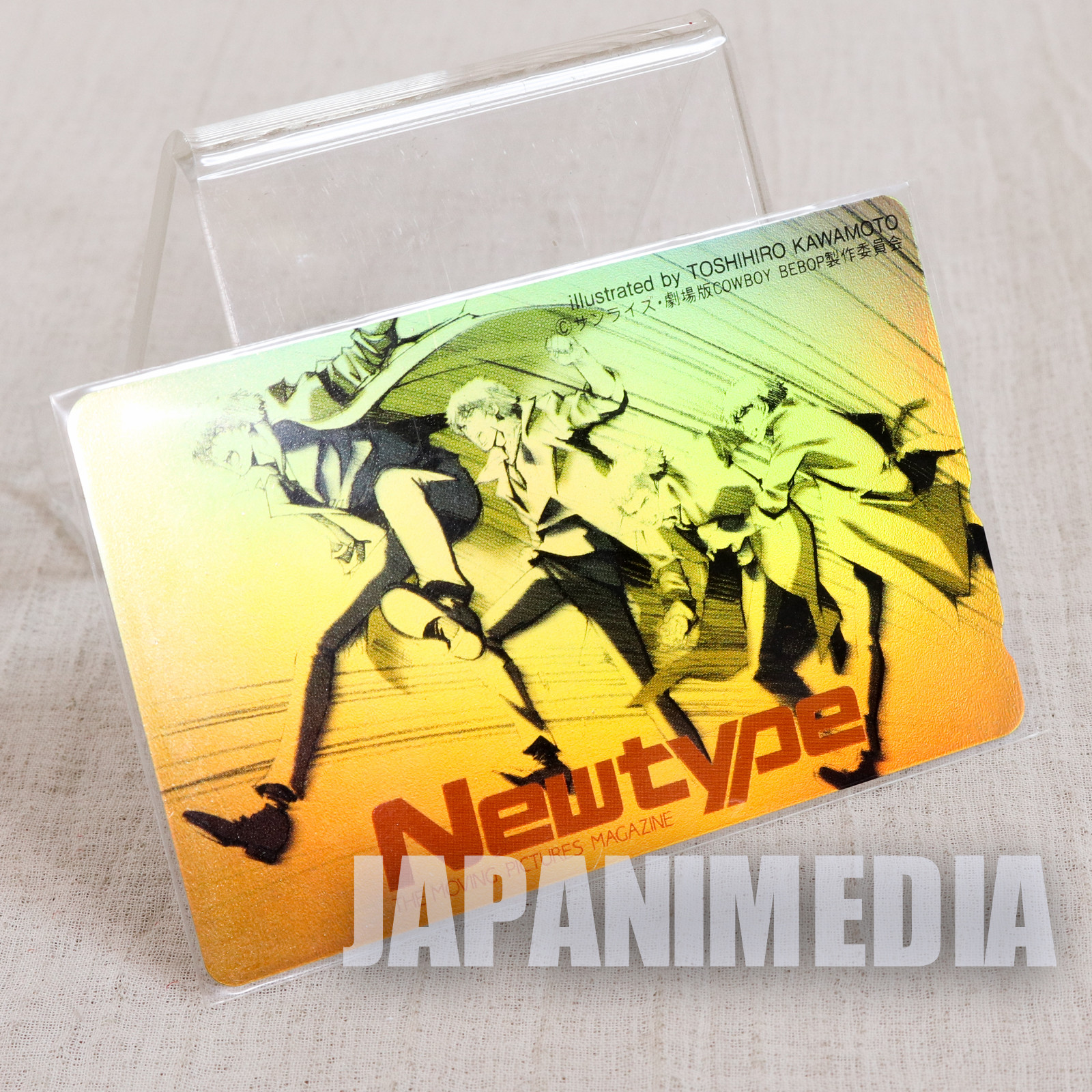 Cowboy Bebop Spike Spiegel Telephone Card JAPAN ANIME MANGA