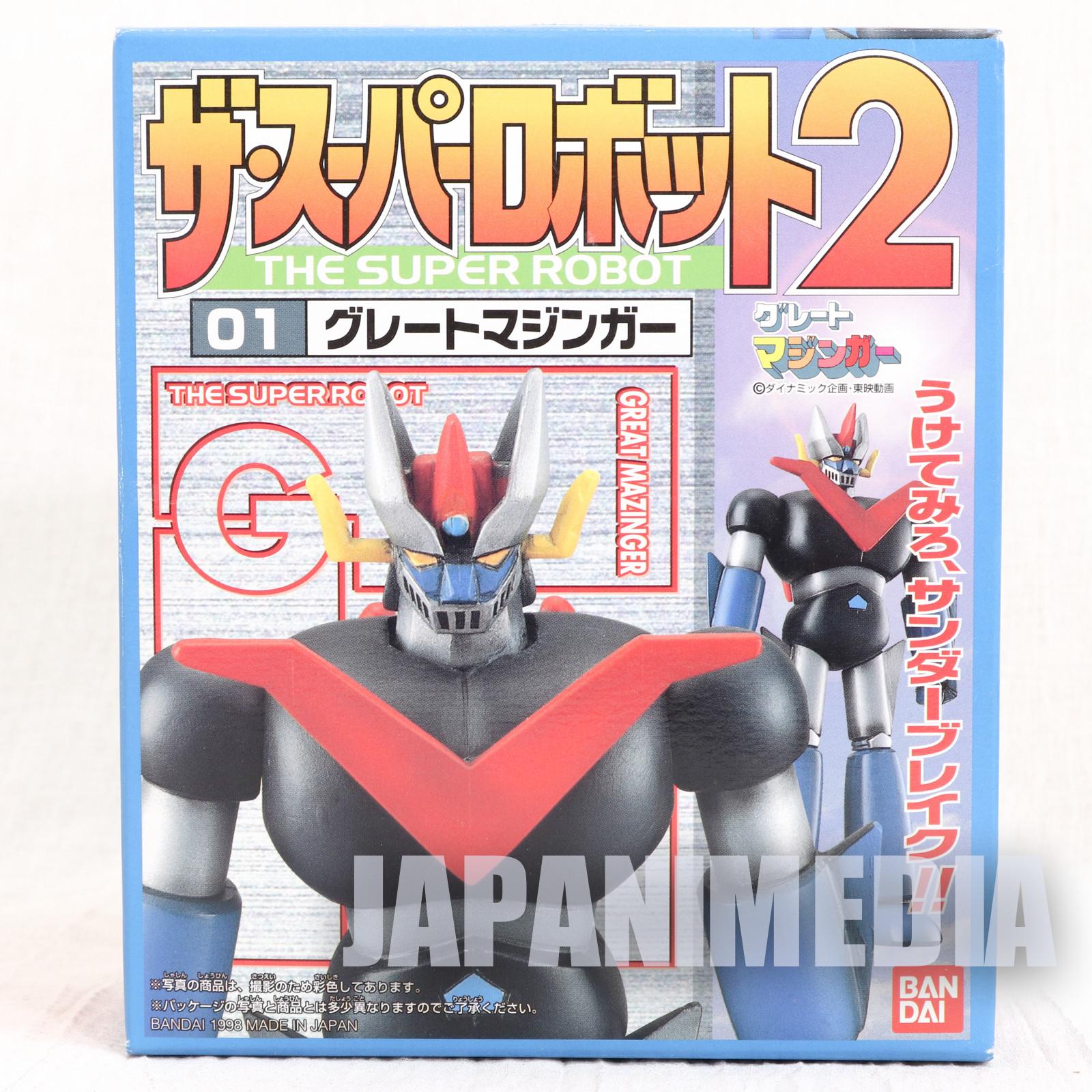 Great Mazinger Z Super Robot Plastic Model Kit Go Nagai JAPAN ANIME