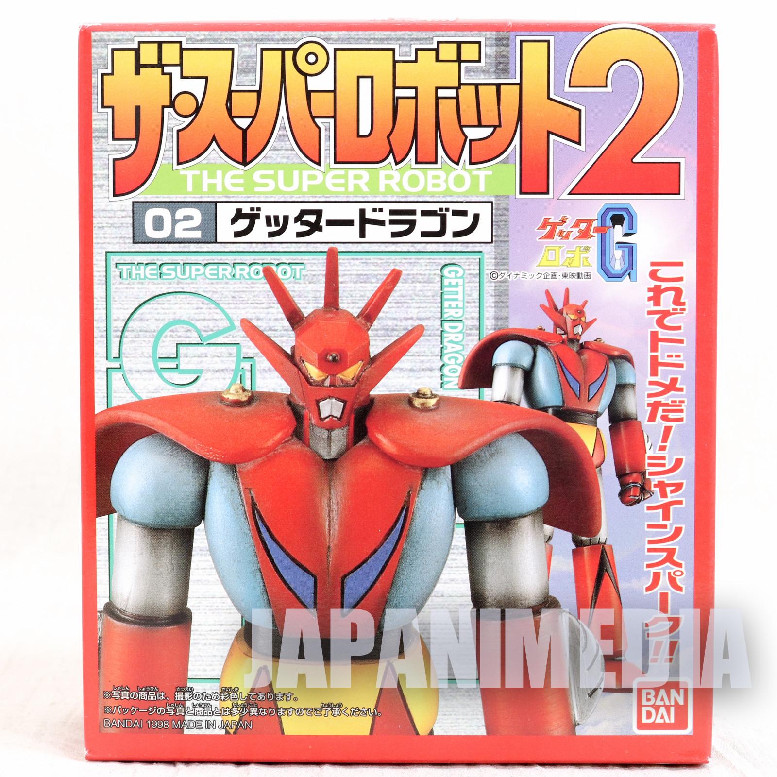 Getter Dragon Robo Super Robot Plastic Model Kit Go Nagai JAPAN ANIME