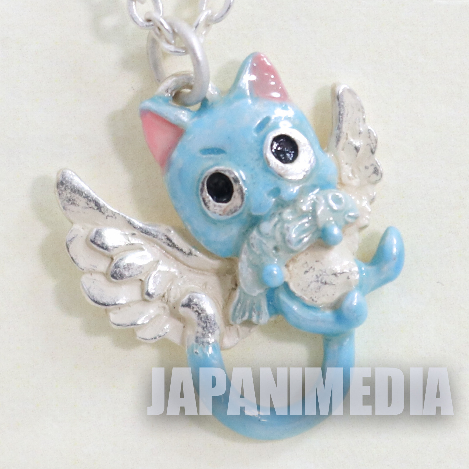 FAIRY TAIL Happy Mascot Charm Necklace JAPAN ANIME MANGA