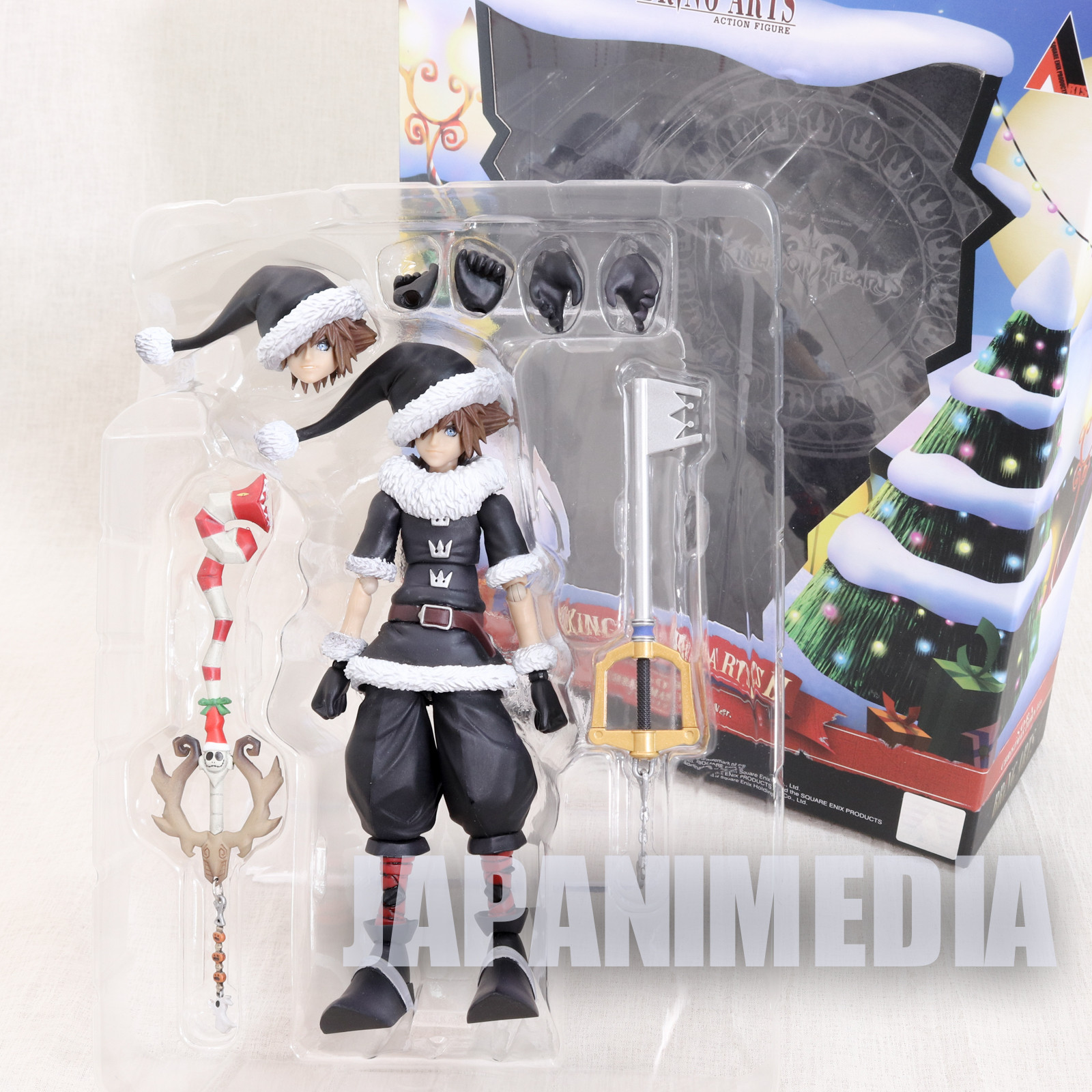 Kingdom Hearts Bring Arts Action Figure SORA Christmas Town ver. JAPAN