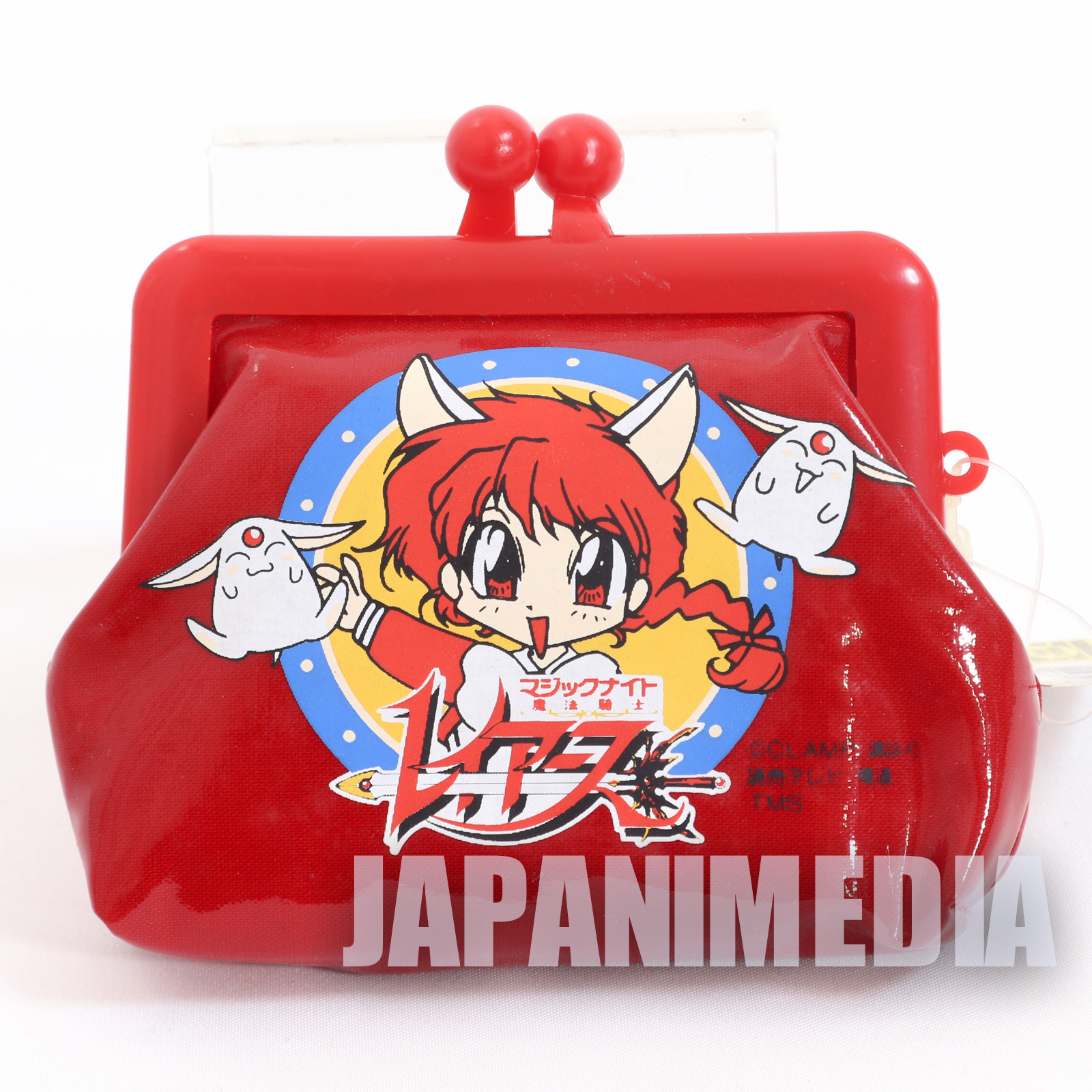 Retro Magic Knight Rayearth Hikaru Shido Purse Coin Case Red ver. JAPAN