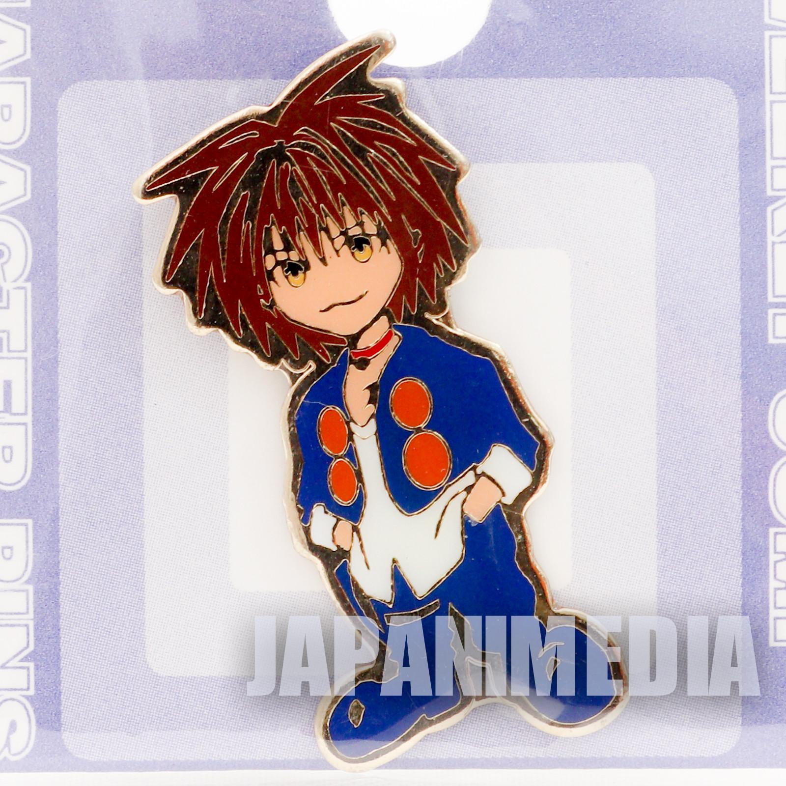 Black Cat Train Heartnet Character Pins JAPAN ANIME SHONEN JUMP