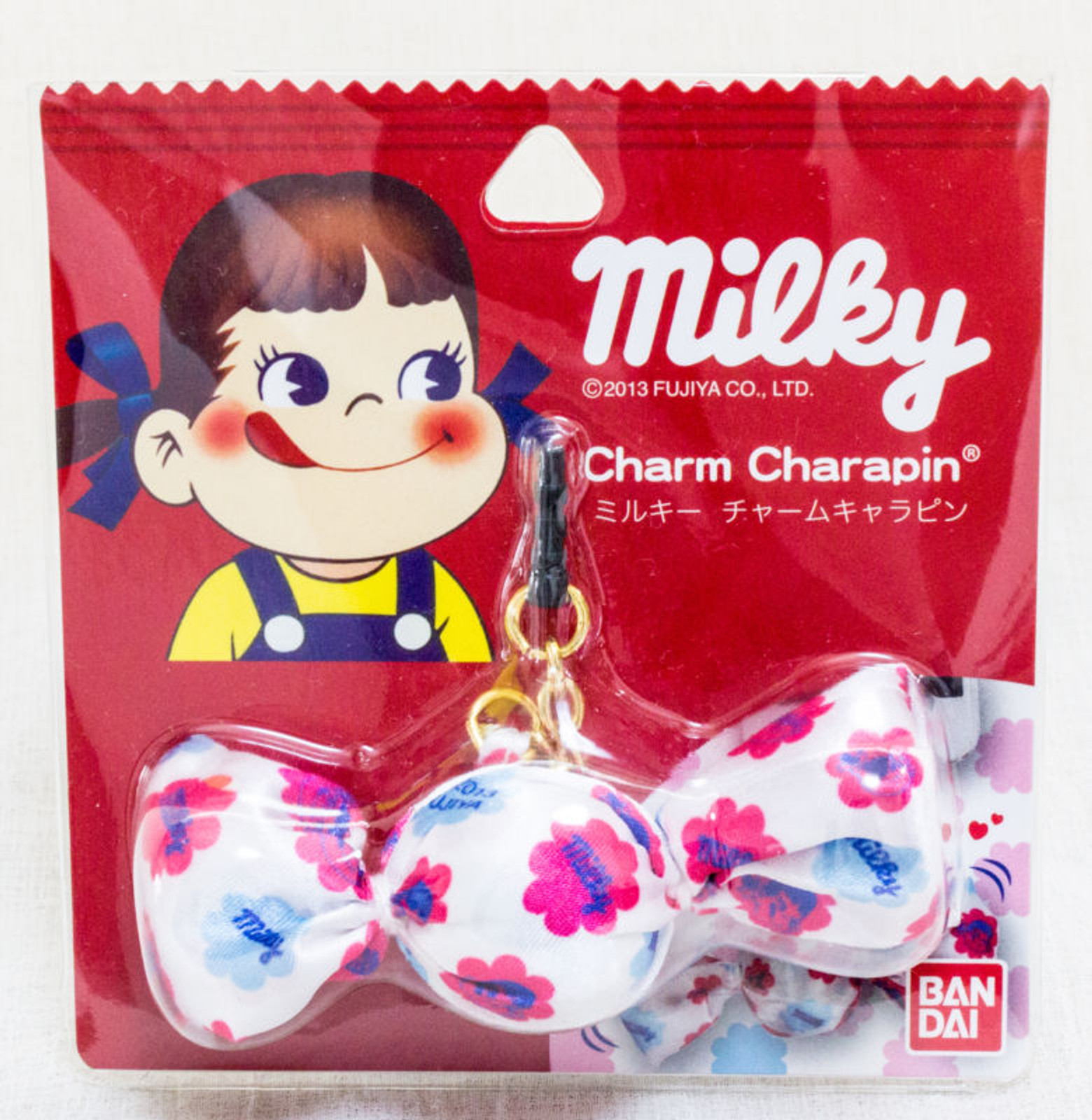Milky Candy Charm Charapin for Smart Phones Peko-chan FUJIYA BANDAI JAPAN