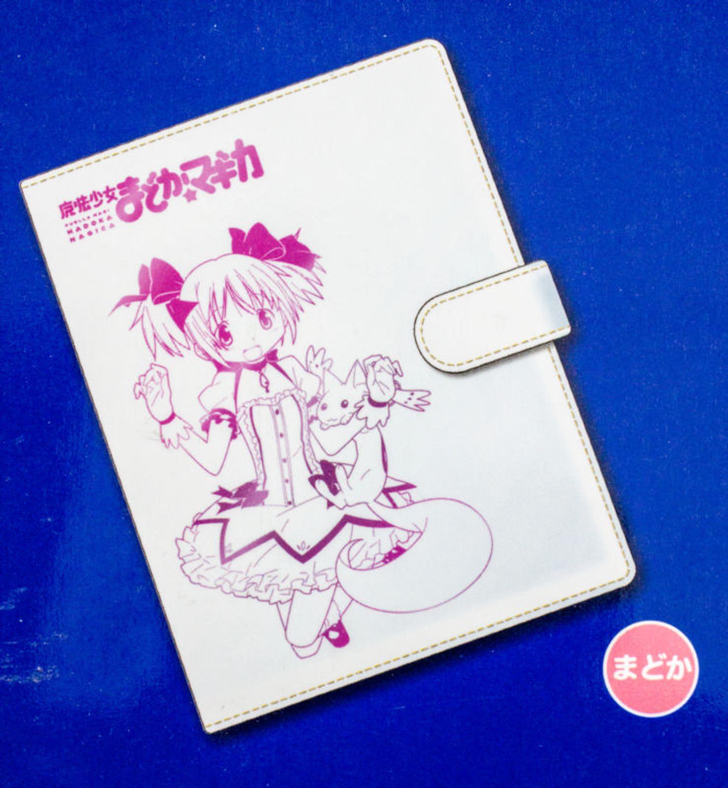 Puella Magi Madoka Magica Personal Organizer Notebook Madoka Ver. JAPAN ANIME