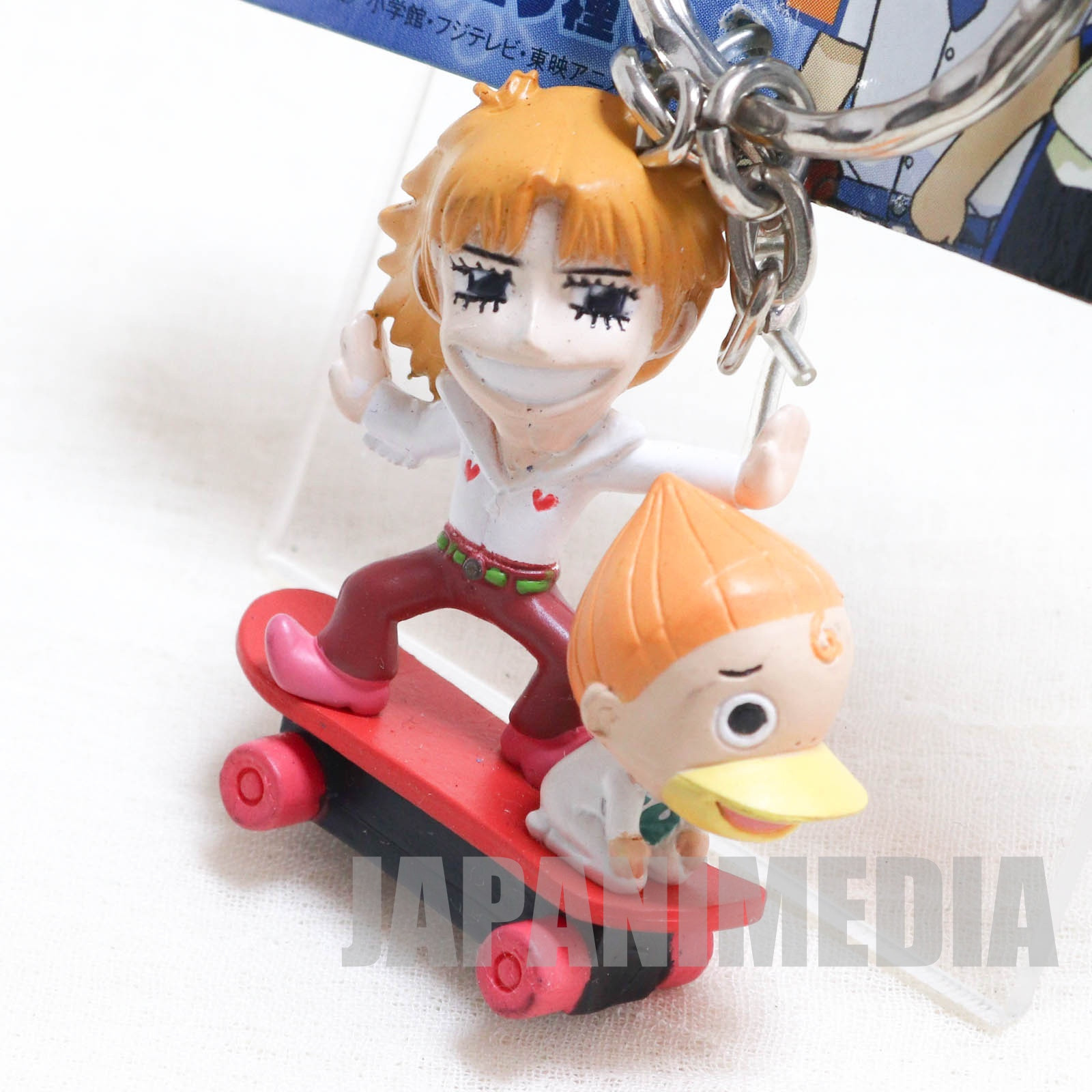 Zatch Bell! Parco Folgore & Kanchome Pair Figure Keychain 2 JAPAN ANIME