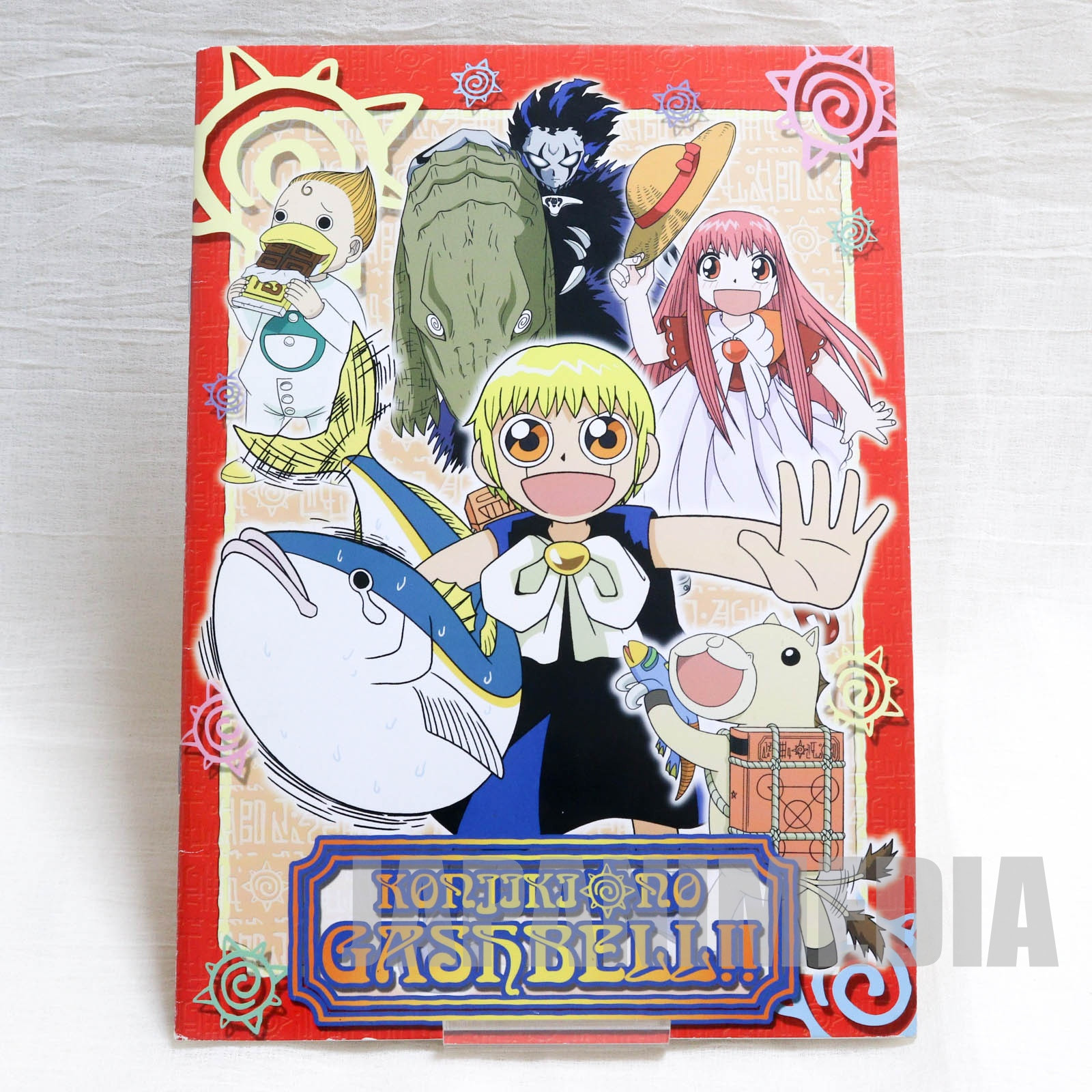 Zatch Bell! Notebook [Zatch Bell | Ponygon | Kanchome | Tia | Brago] JAPAN ANIME