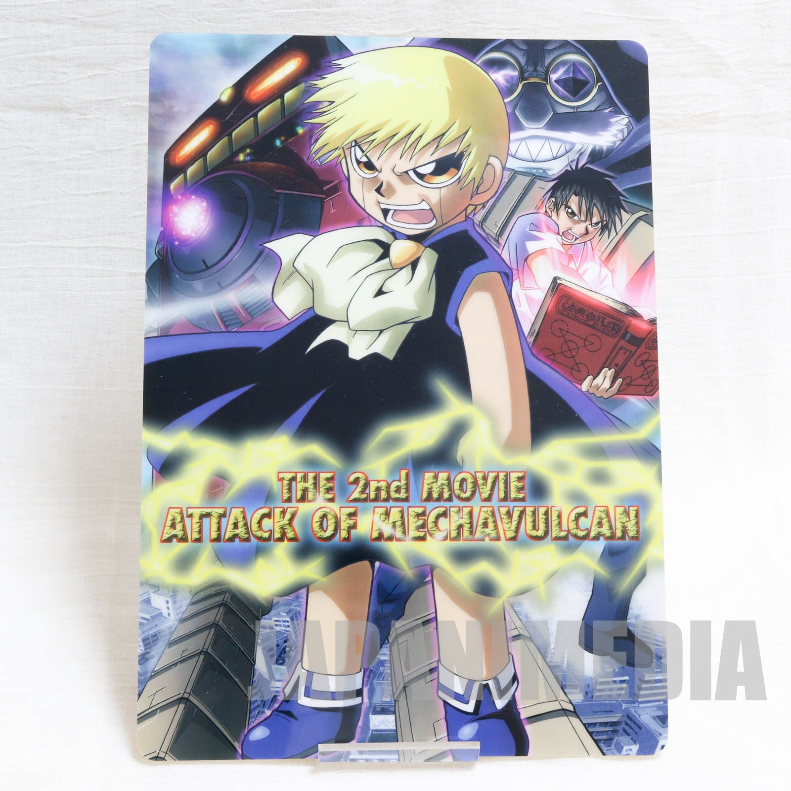 Zatch Bell! Movie 2 Attack of Mechavulcan Plastic Pencil Board Pad Shitajiki JAPAN ANIME