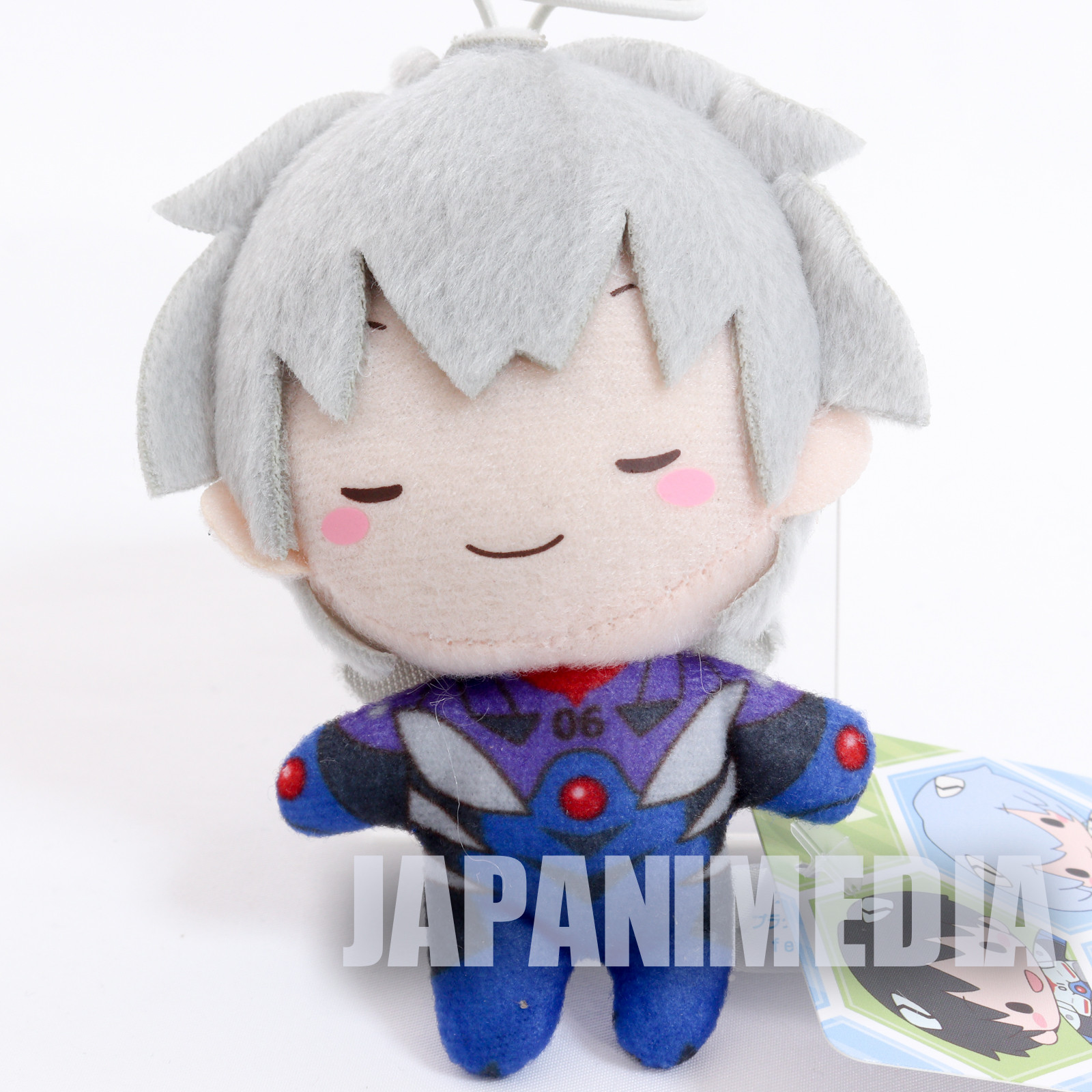 Evangelion Kaworu Nagisa Plugsuit Mini Plush Doll SEGA JAPAN ANIME MANGA