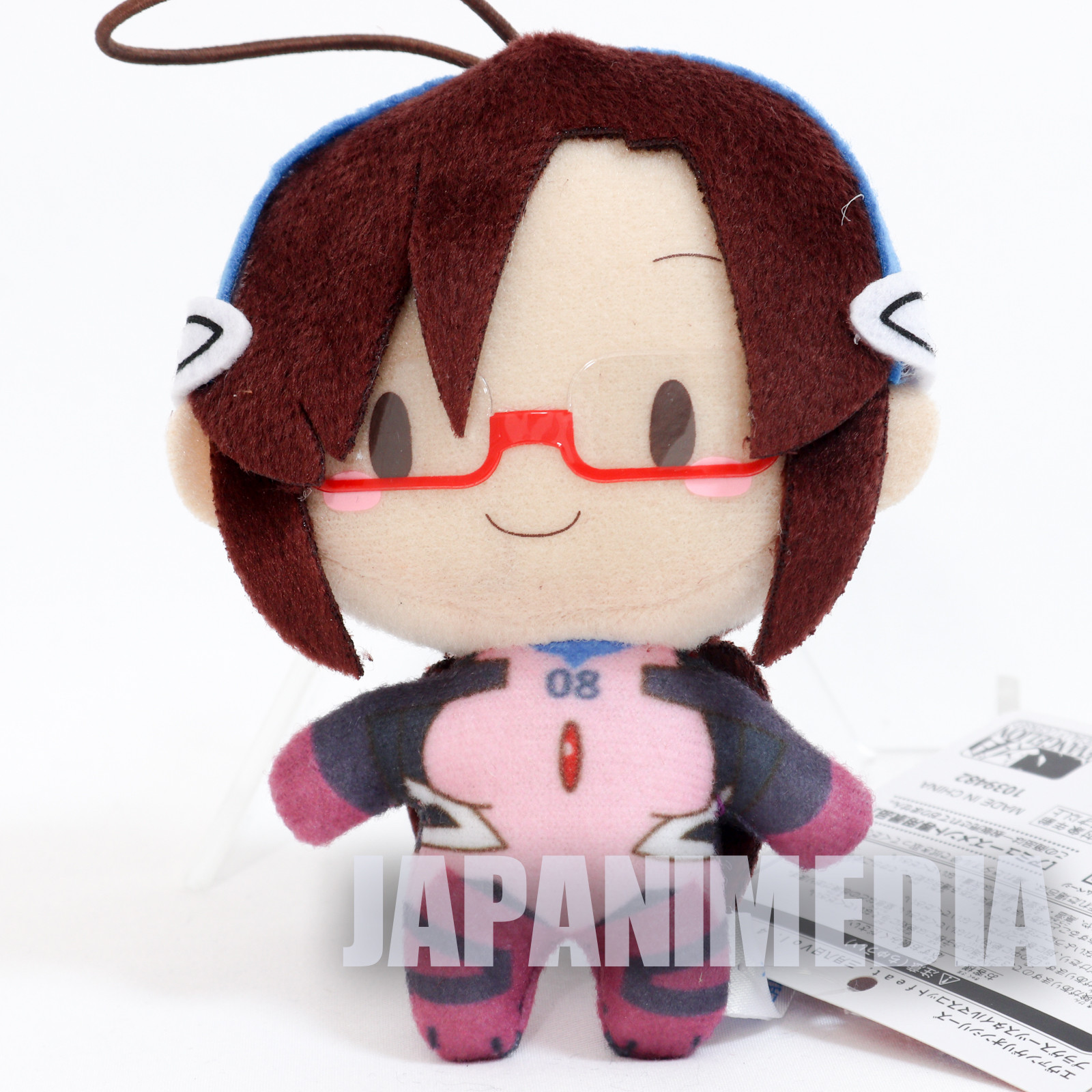 Evangelion Mari Illustrious Plugsuit Mini Plush Doll SEGA JAPAN ANIME MANGA