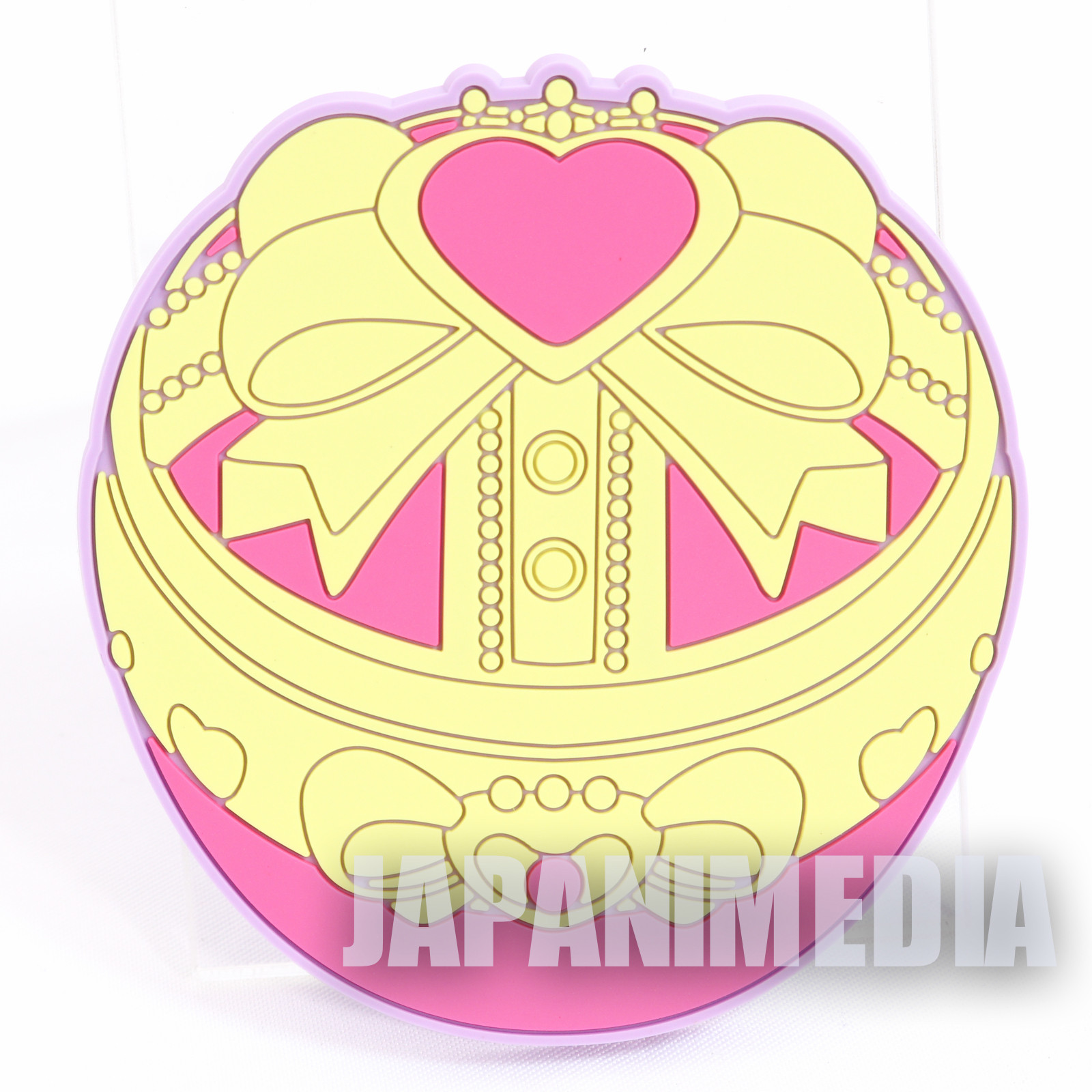 "Sailor Moon Small Size Rubber Coaster 2.5"" #3 JAPAN ANIME"