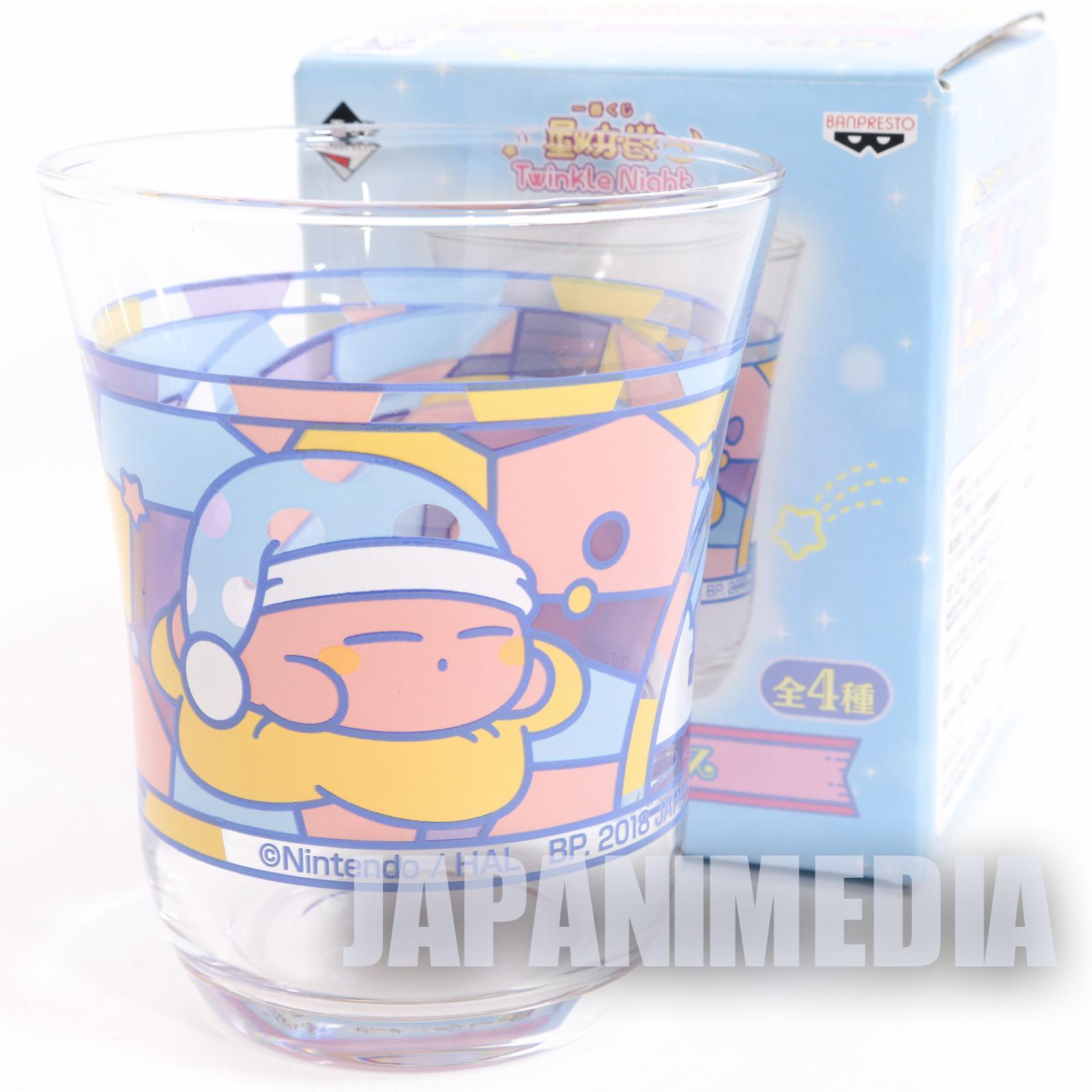 Kirby Super Star Twinkle Night Glass Banpresto JAPAN GAME NINTNEDO
