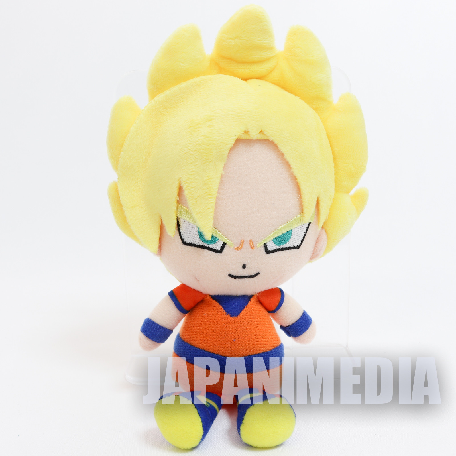 Dragon Ball Super Saiyan Gokou Chibi Plush Doll JAPAN ANIME MANGA