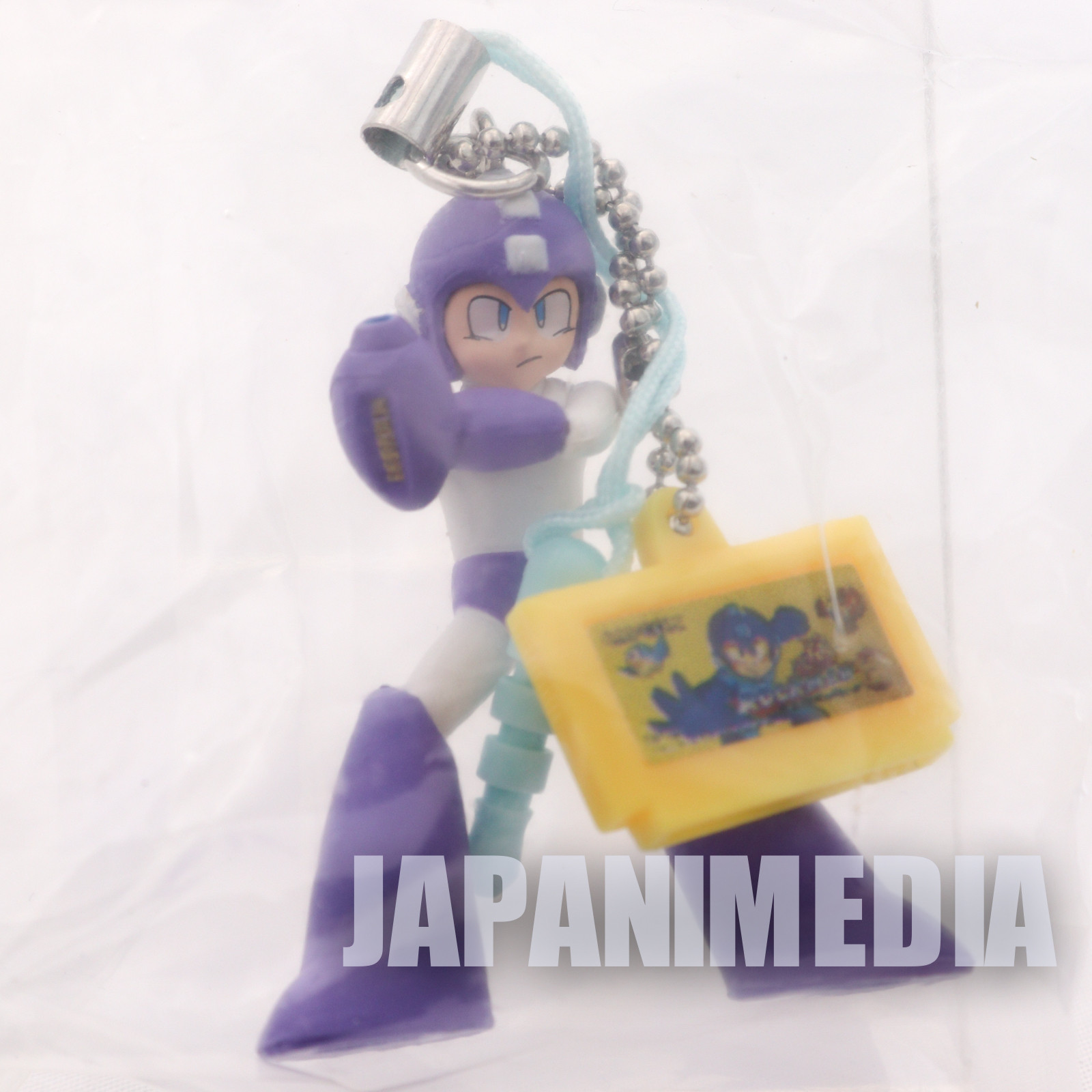 Rockman 6 Purple Figure Mascot JAPAN GAME CAPCOM MEGAMAN