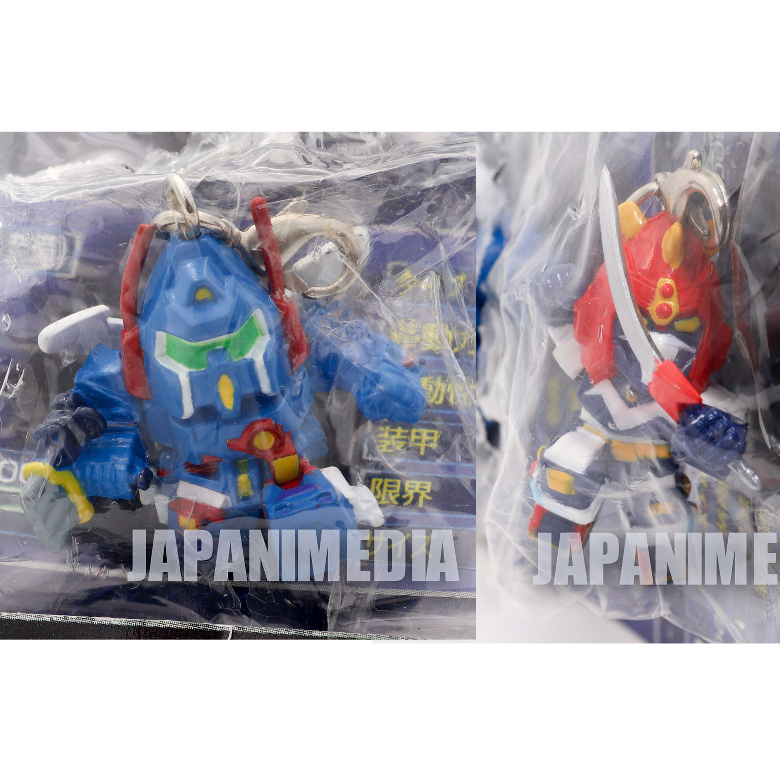 Voltes Ⅴ & Xabungle Super Robort Wars Mascot Figure JAPAN ANIME TOKUSATSU