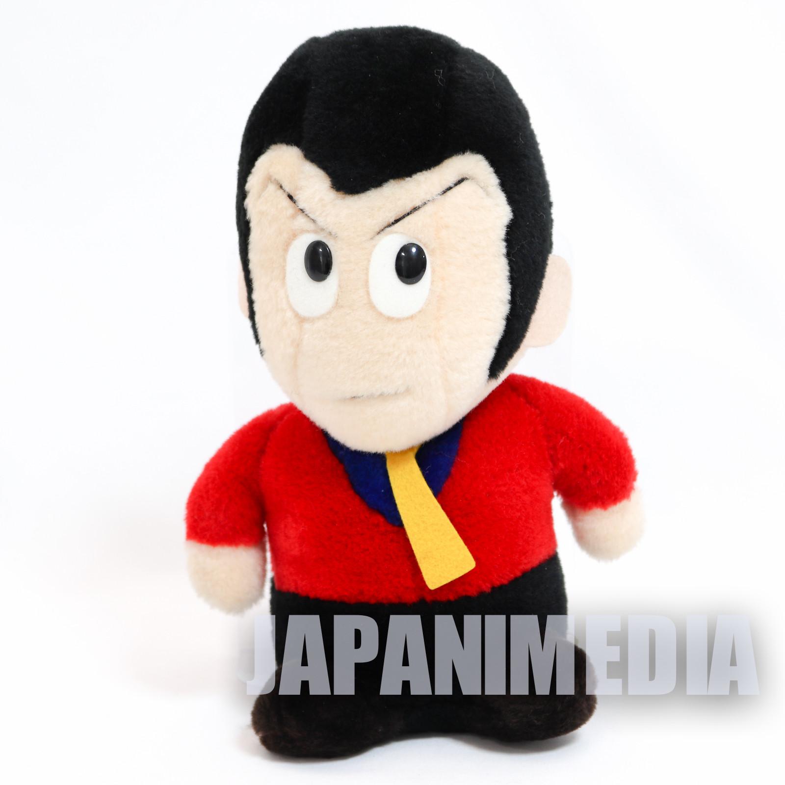 "Retro RARE! Lupin the 3rd Third LUPIN Plush Doll 9"" JAPAN ANIME MANGA"