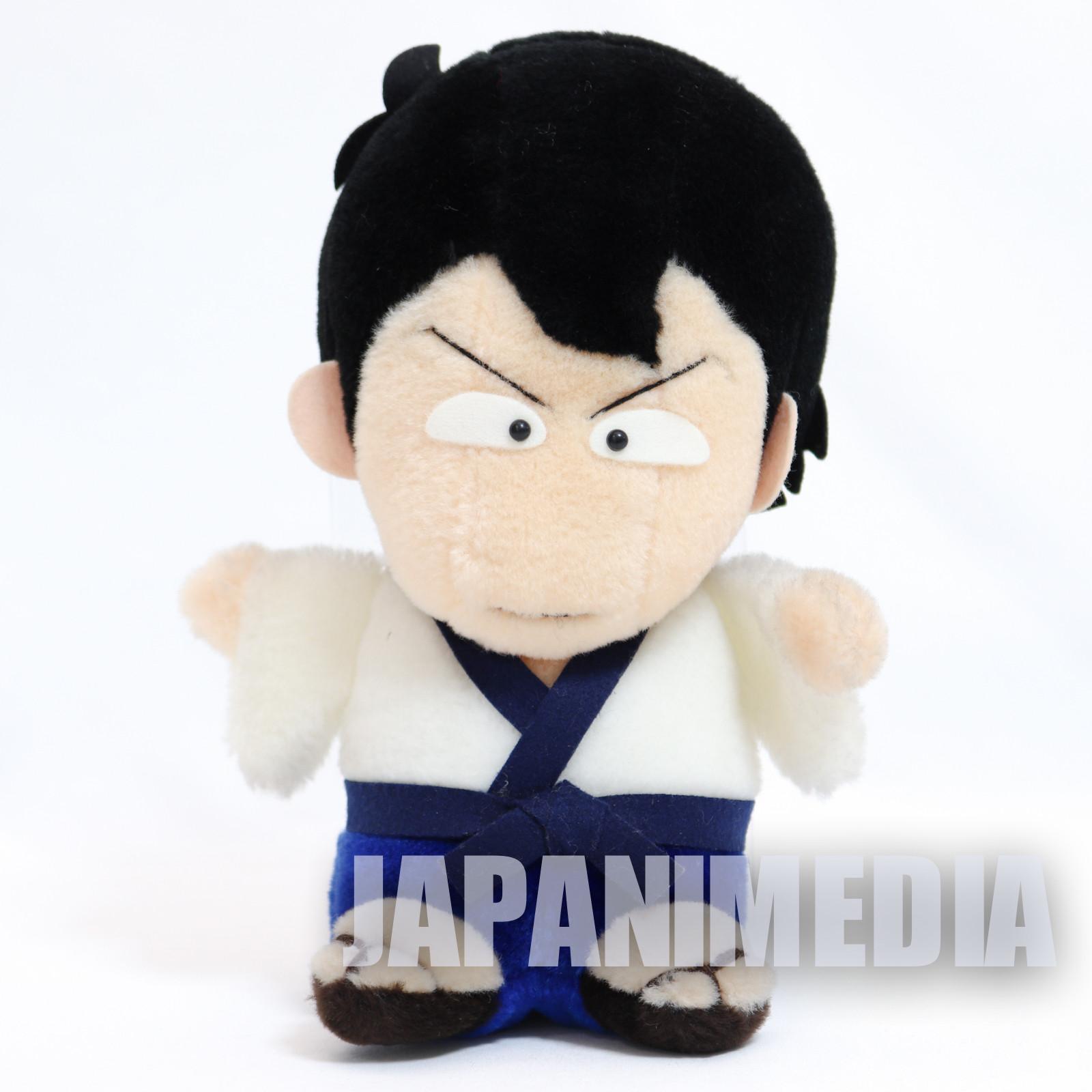 "Retro RARE! Lupin the 3rd Third Goemon Ishikawa Plush Doll 9"" JAPAN ANIME MANGA"