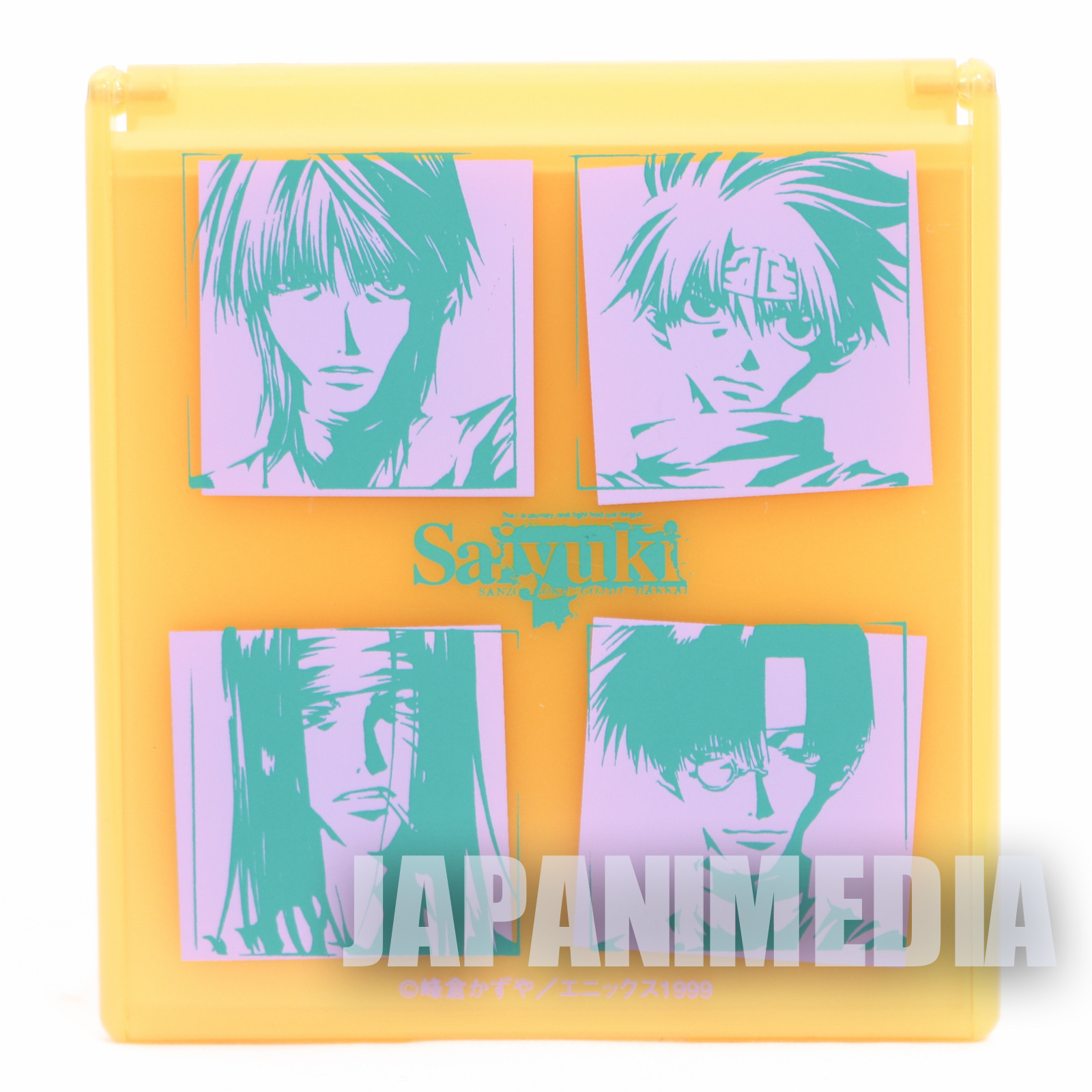 SAIYUKI Hand Mirror Sanzo / Goku / Gojyo / Hakkai Movic JAPAN ANIME MANGA