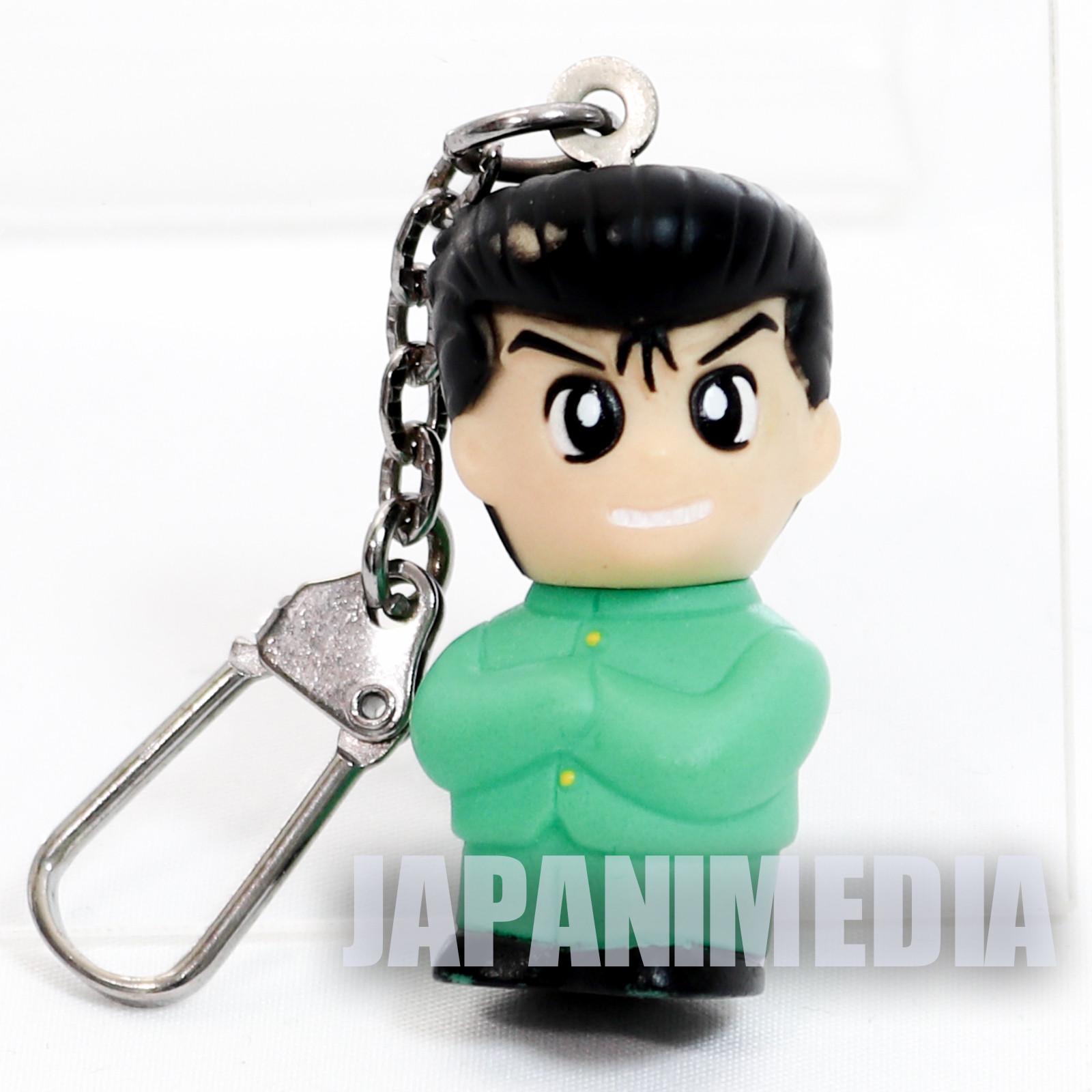 Retro Yu Yu Hakusho Yusuke Urameshi Figure Keychain JAPAN ANIME MANGA