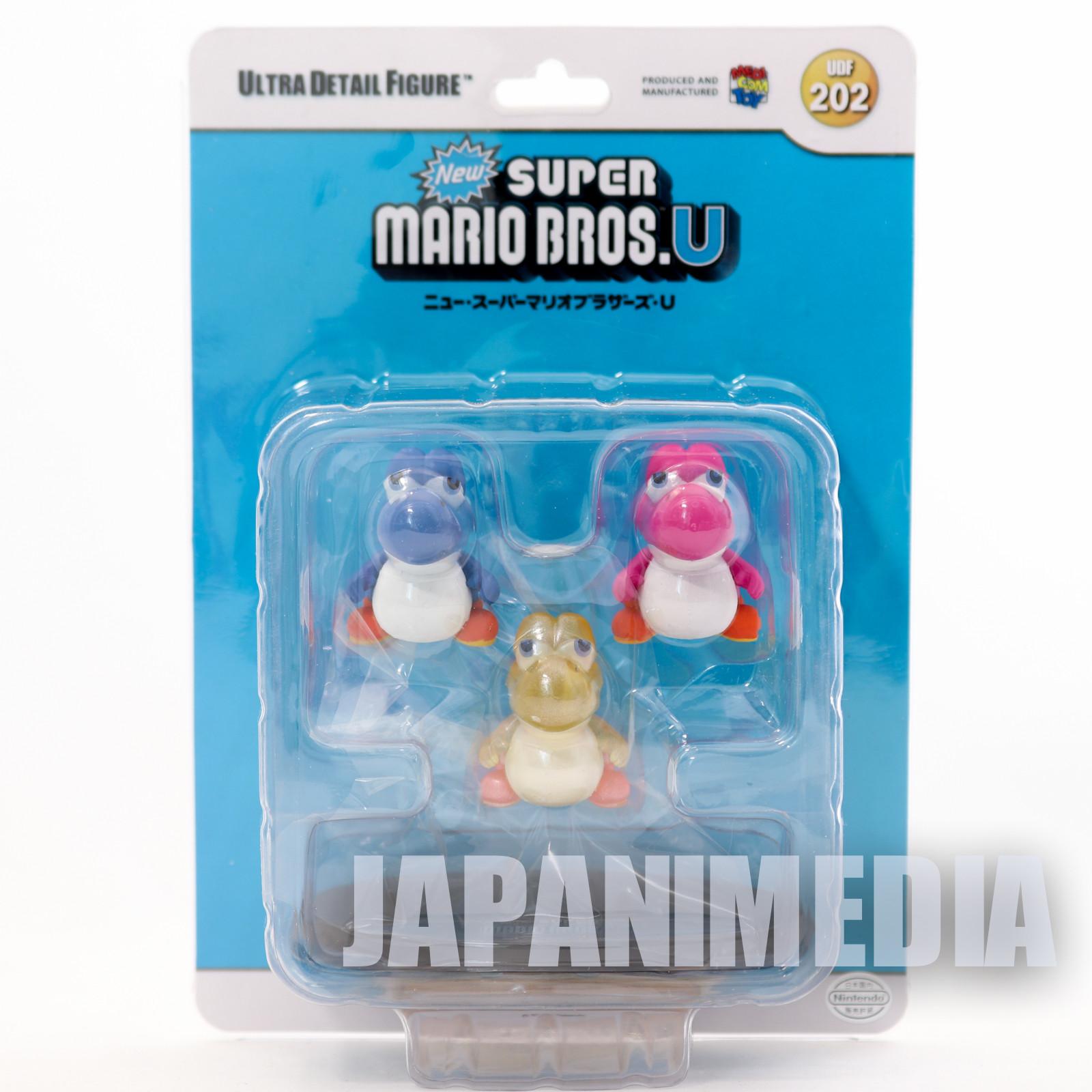 Super Mario Bros. U Fusen / Awa / Hikari / Chibi Yoshi UDF Figure Medicim Toy