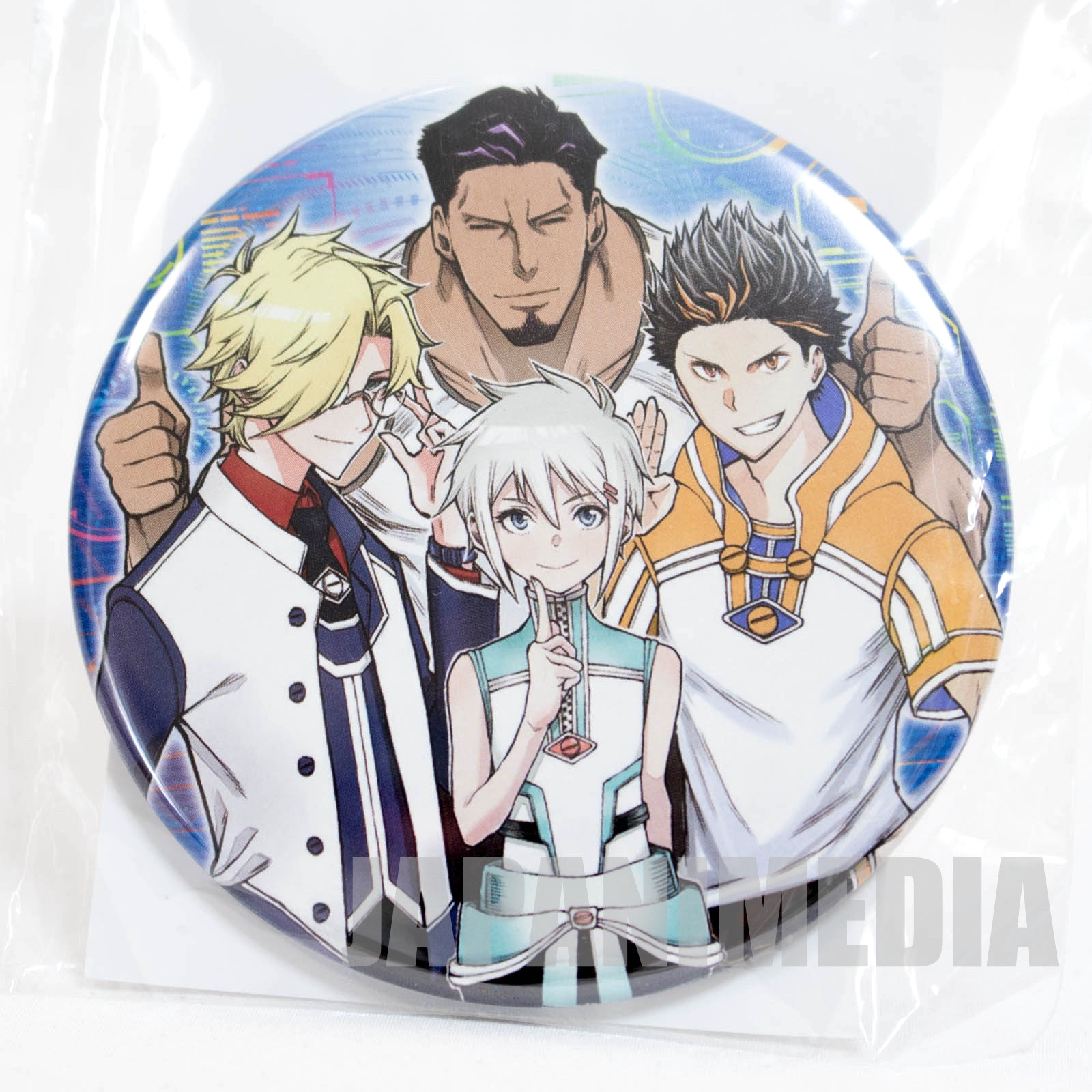 Agravity Boys Button Badge [Saga | Chirs | Geralt | Babazulagi] JAPAN MANGA