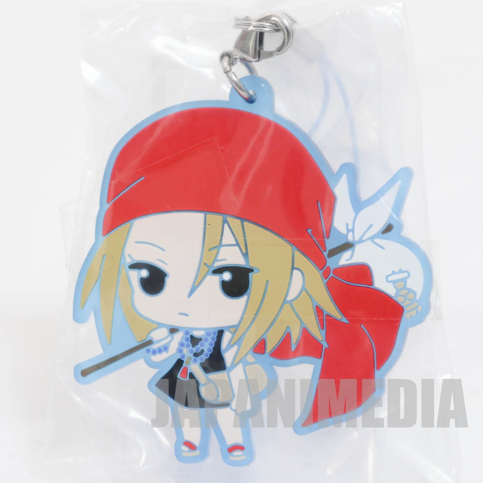 Shaman King Anna Kyoyama Capsule Rubber mascot strap 3 JAPAN MANGA